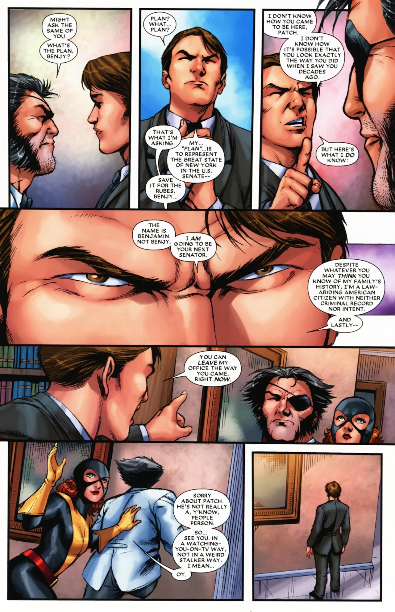 Read online Wolverine: First Class comic -  Issue #17 - 12