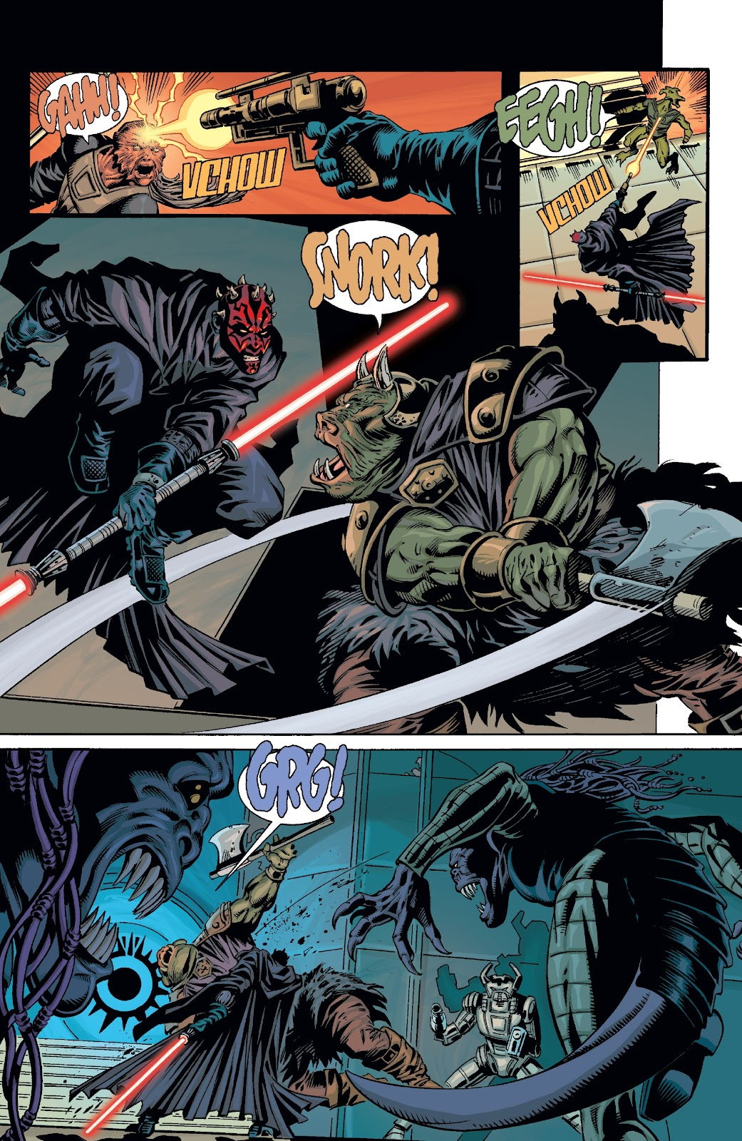 Read online Star Wars Legends: Rise of the Sith - Epic Collection comic -  Issue # TPB 2 (Part 3) - 10