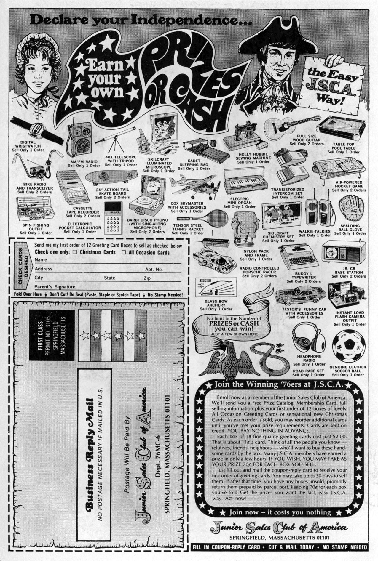 Read online Amazing Adventures (1970) comic -  Issue #38 - 2