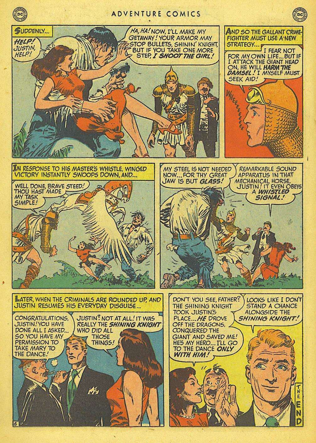 Read online Adventure Comics (1938) comic -  Issue #155 - 32