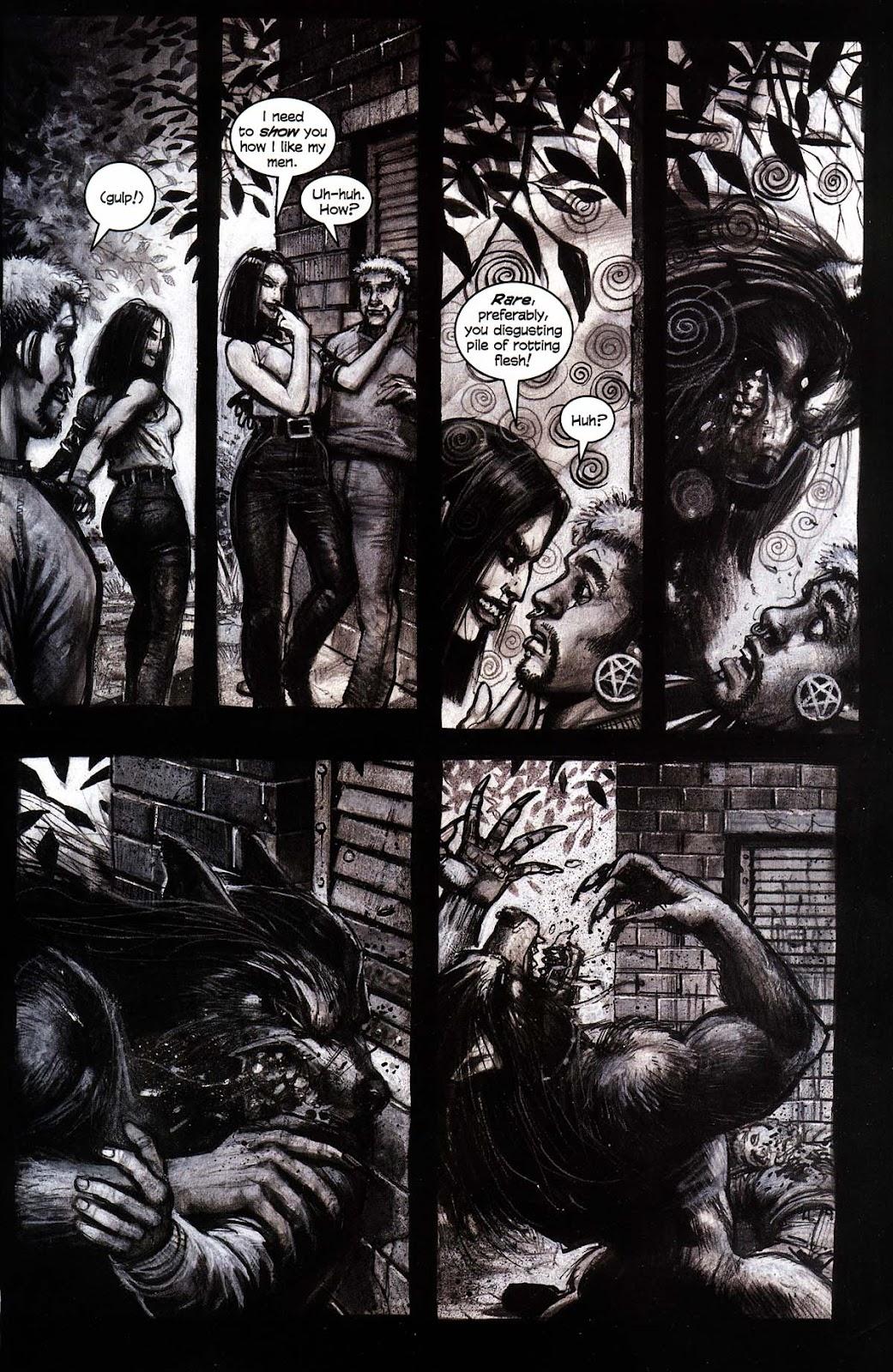 Read online Werewolf the Apocalypse comic -  Issue # Black Furies - 15