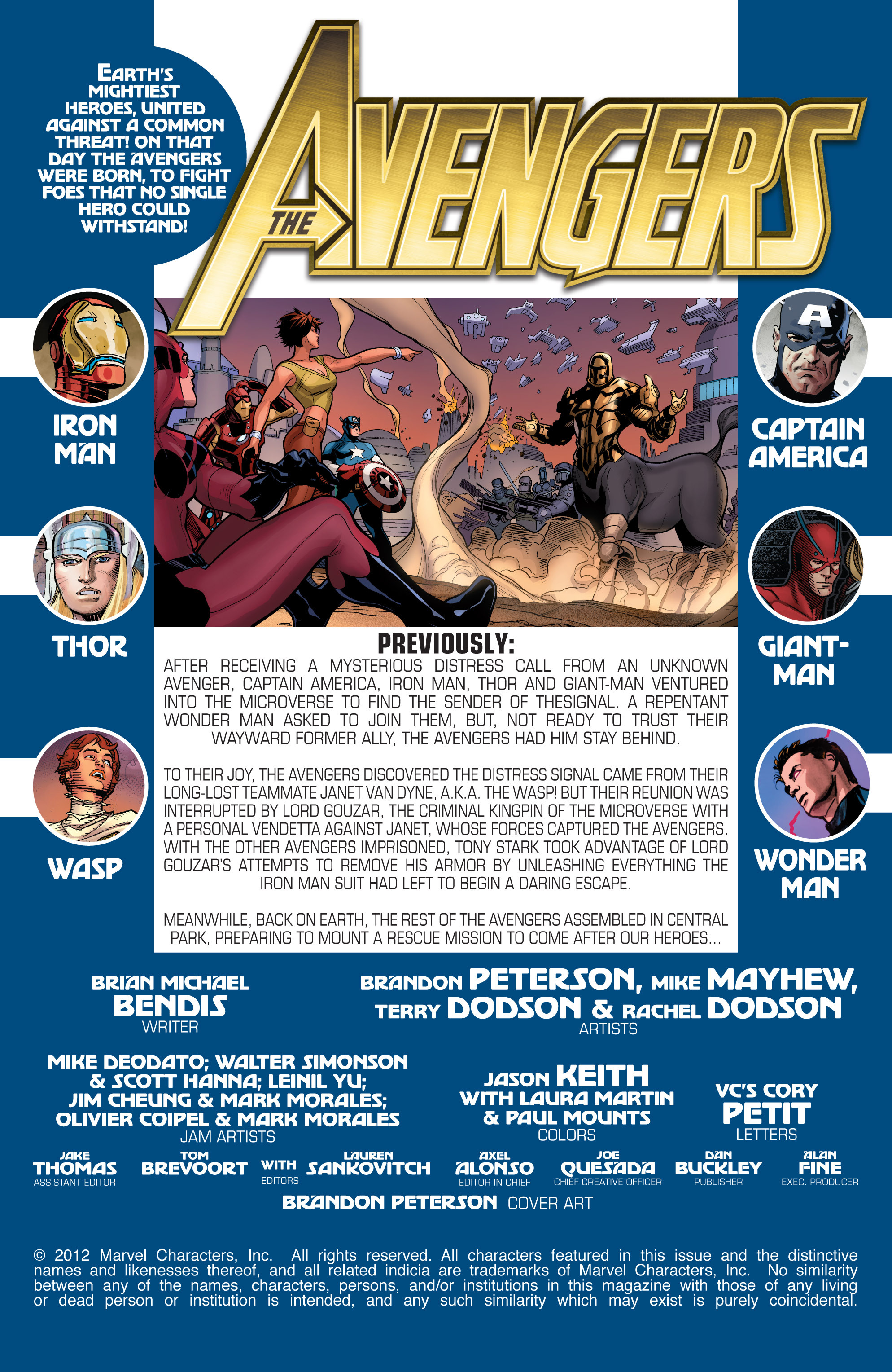 Read online Avengers (2010) comic -  Issue #34 - 2