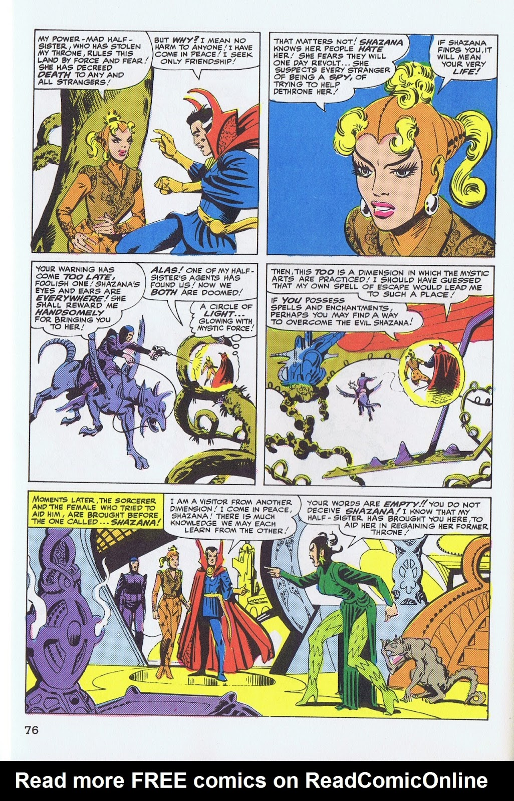 Doctor Strange: Master of the Mystic Arts issue TPB - Page 72