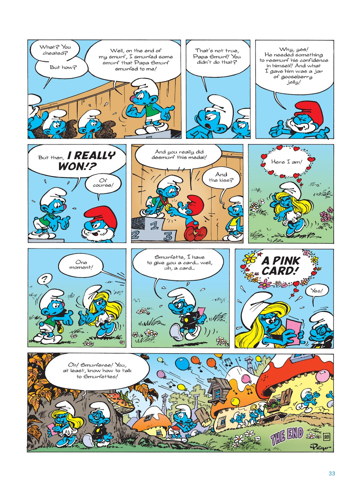 Read online The Smurfs comic -  Issue #11 - 33