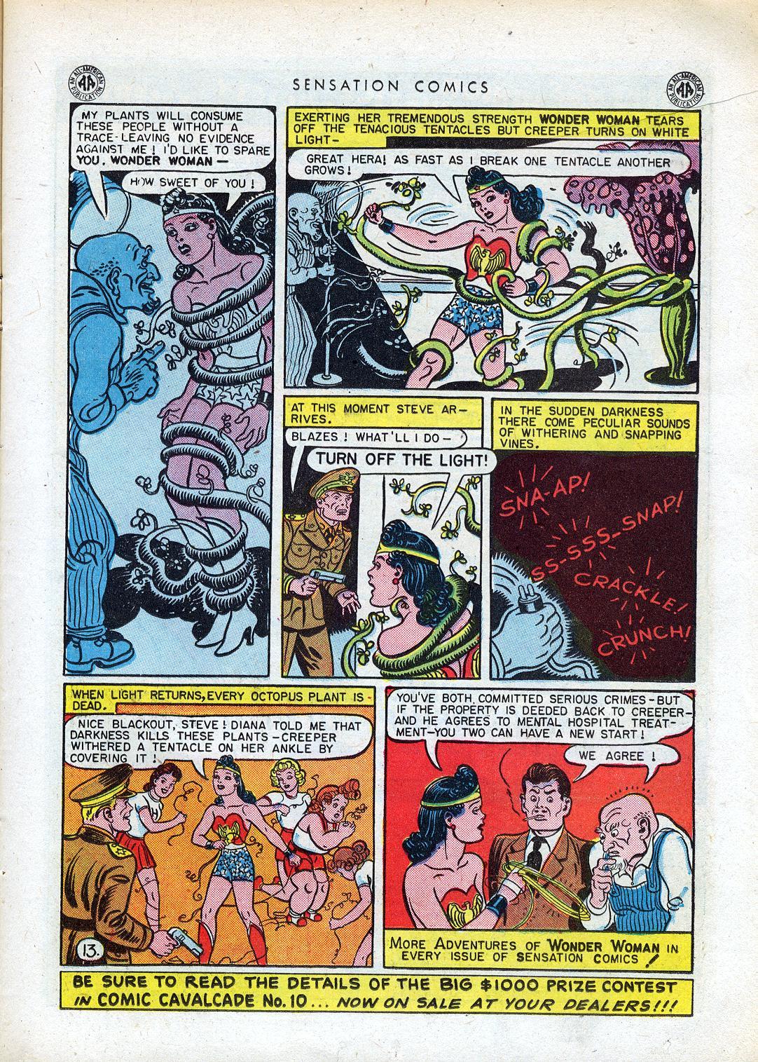 Read online Sensation (Mystery) Comics comic -  Issue #41 - 15