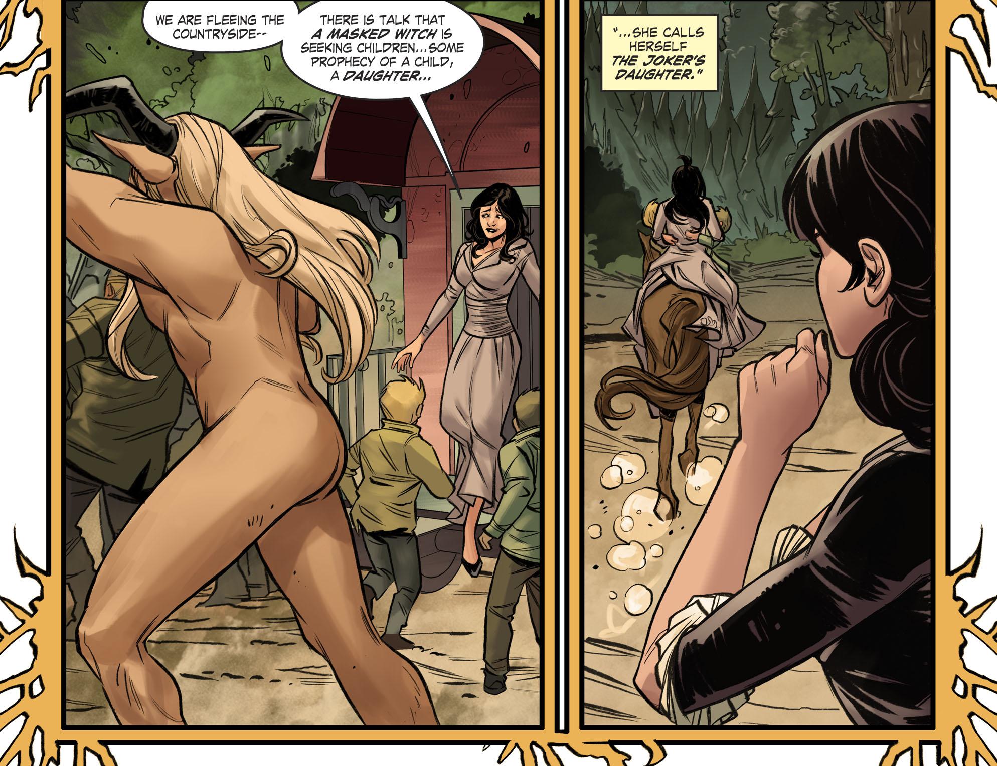 Read online DC Comics: Bombshells comic -  Issue #96 - 17