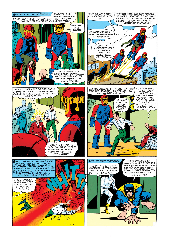 Read online Uncanny X-Men (1963) comic -  Issue #14 - 12