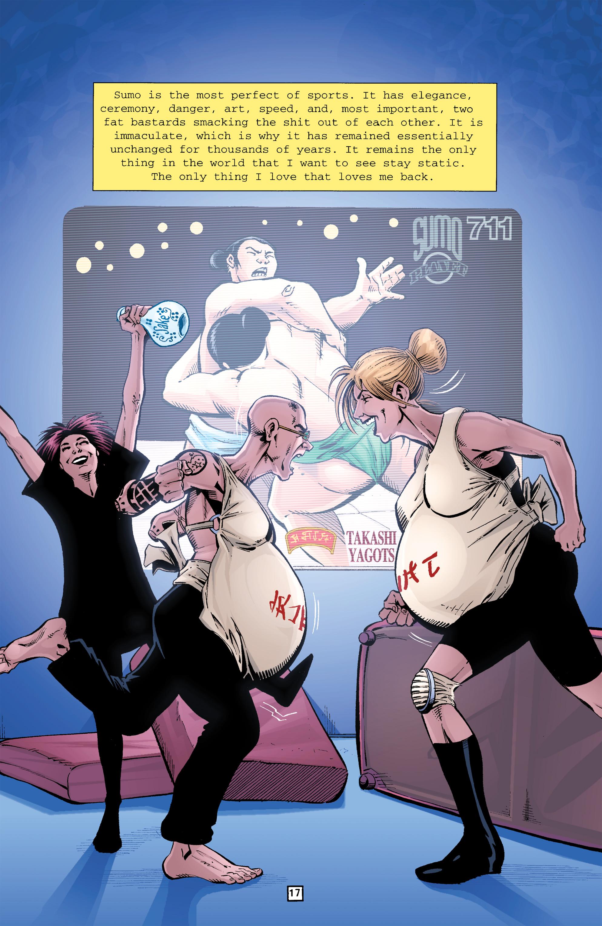 Read online Transmetropolitan comic -  Issue #26 - 18