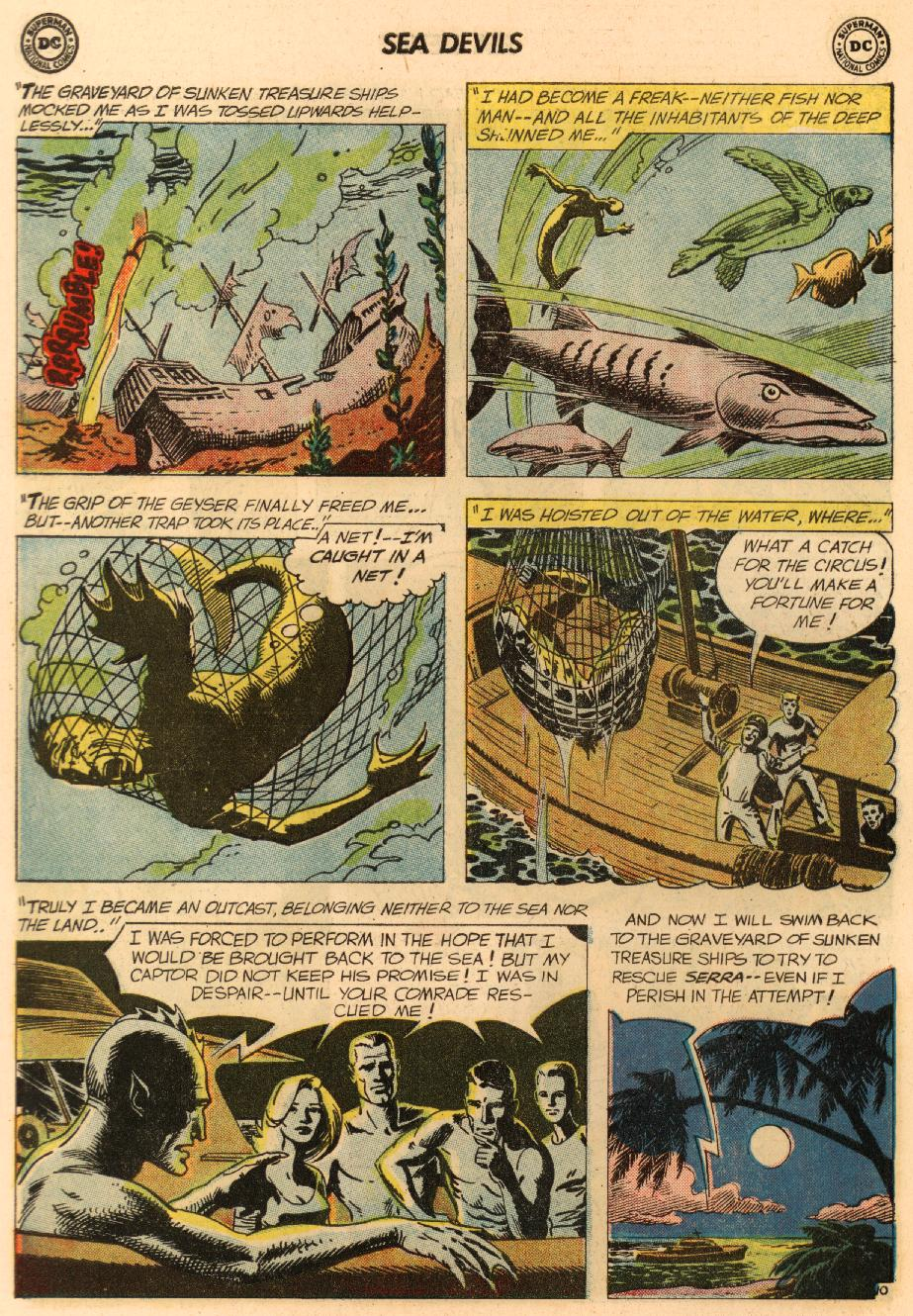 Read online Sea Devils comic -  Issue #8 - 15