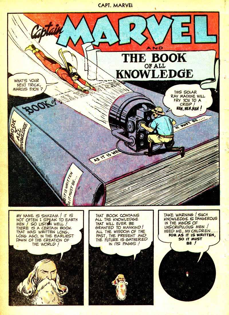 Captain Marvel Adventures issue 93 - Page 4