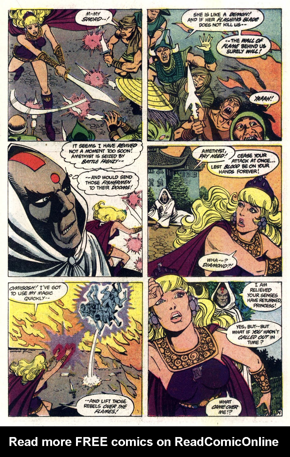 Read online Amethyst (1985) comic -  Issue #3 - 15