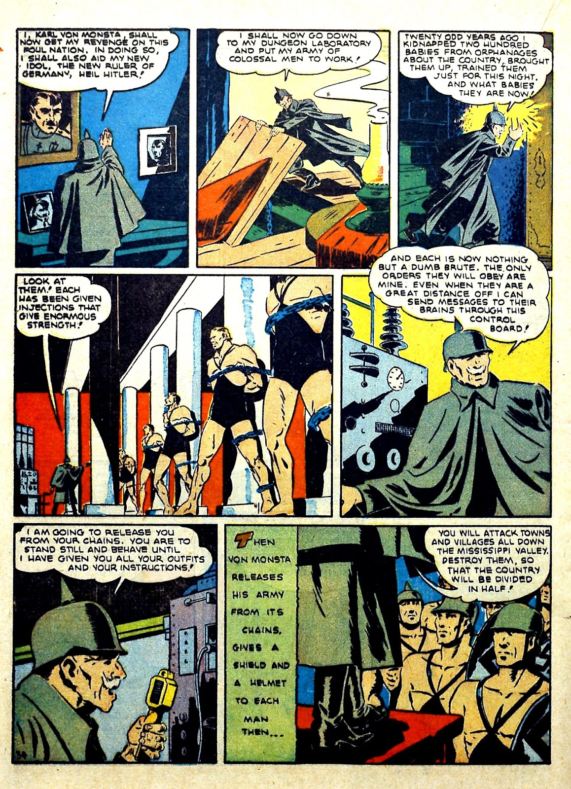 Our Flag Comics issue 4 - Page 36