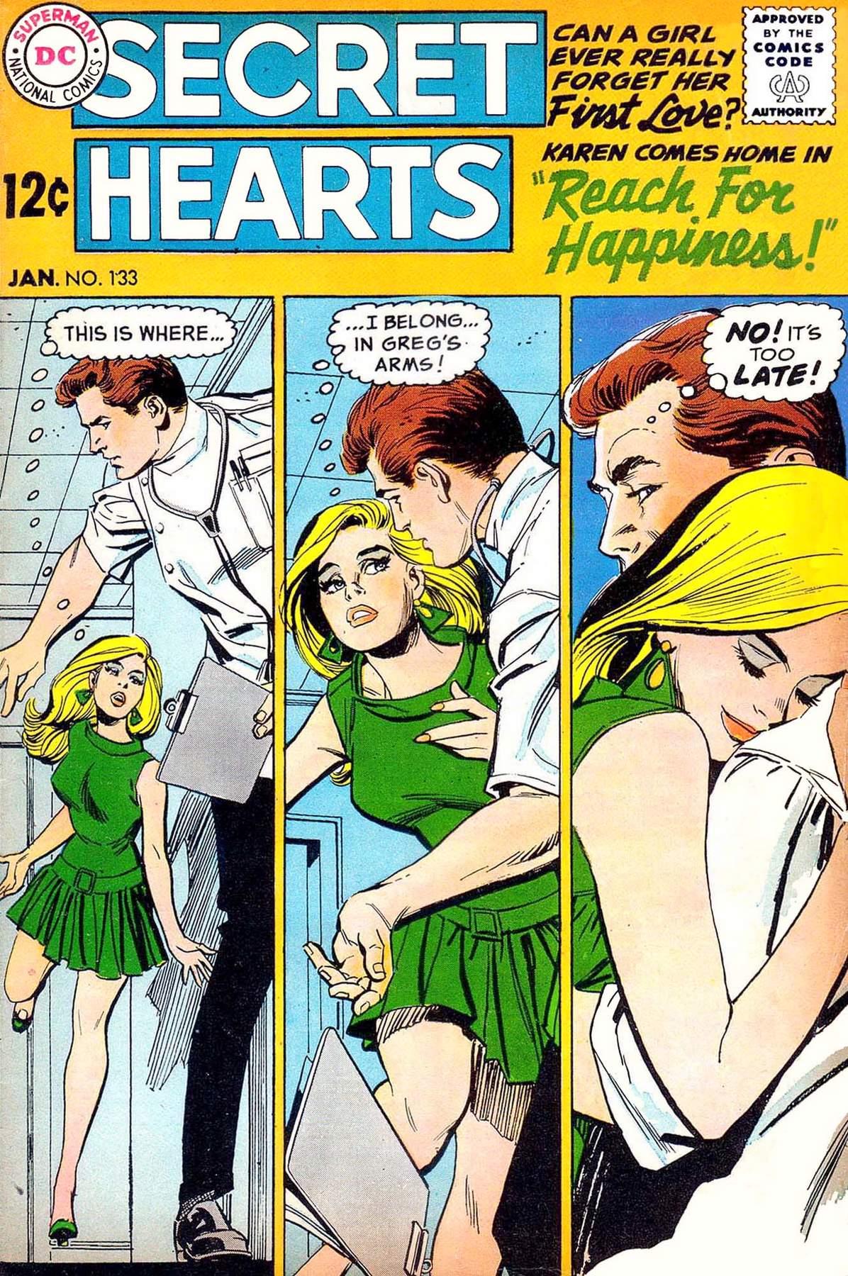 Read online Secret Hearts comic -  Issue #133 - 1