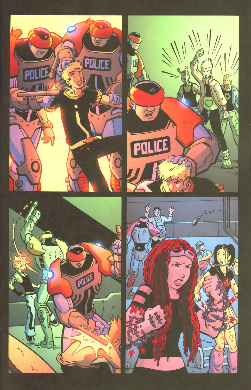 Read online Mek comic -  Issue #3 - 16