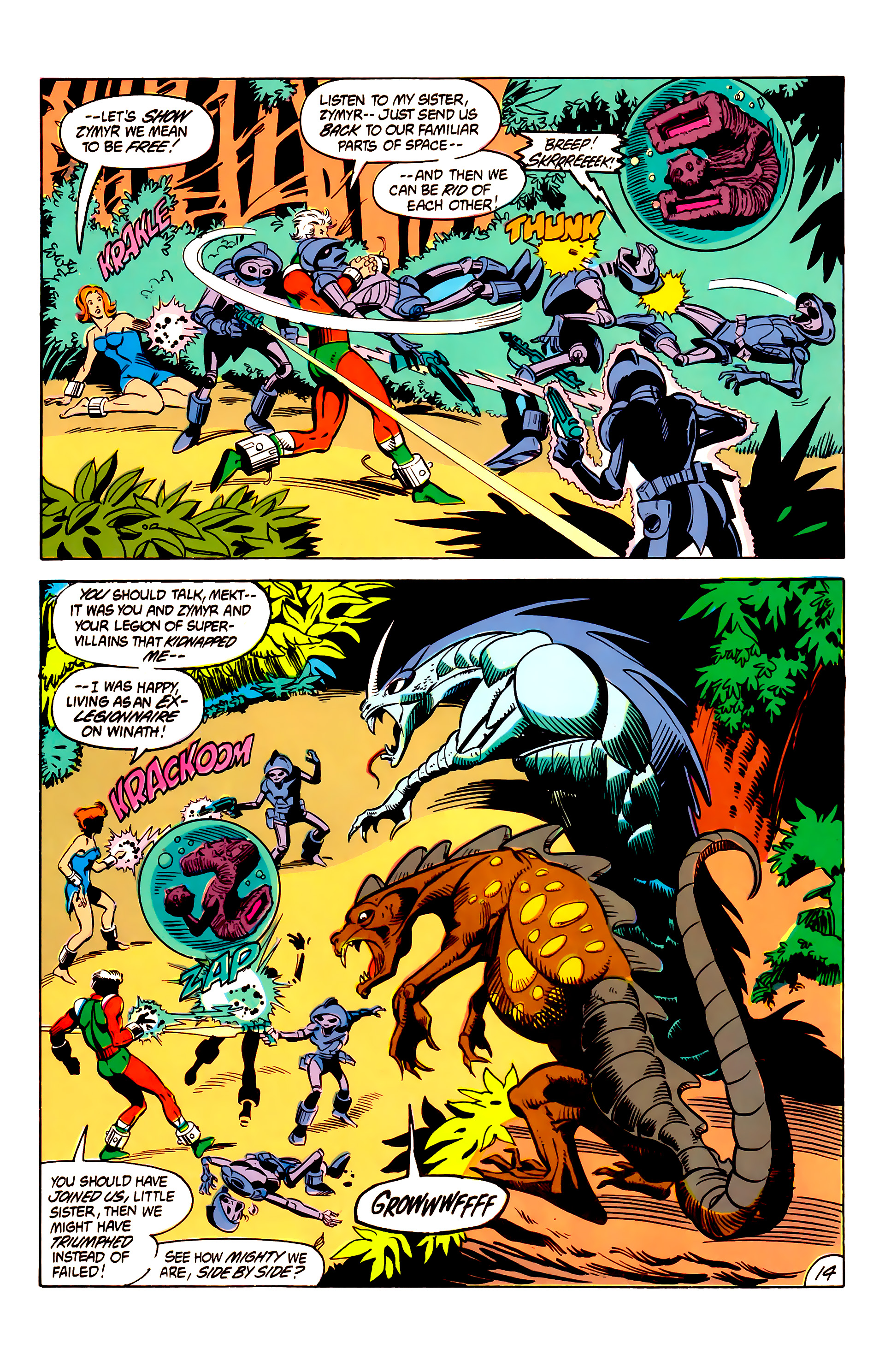 Legion of Super-Heroes (1984) 6 Page 14