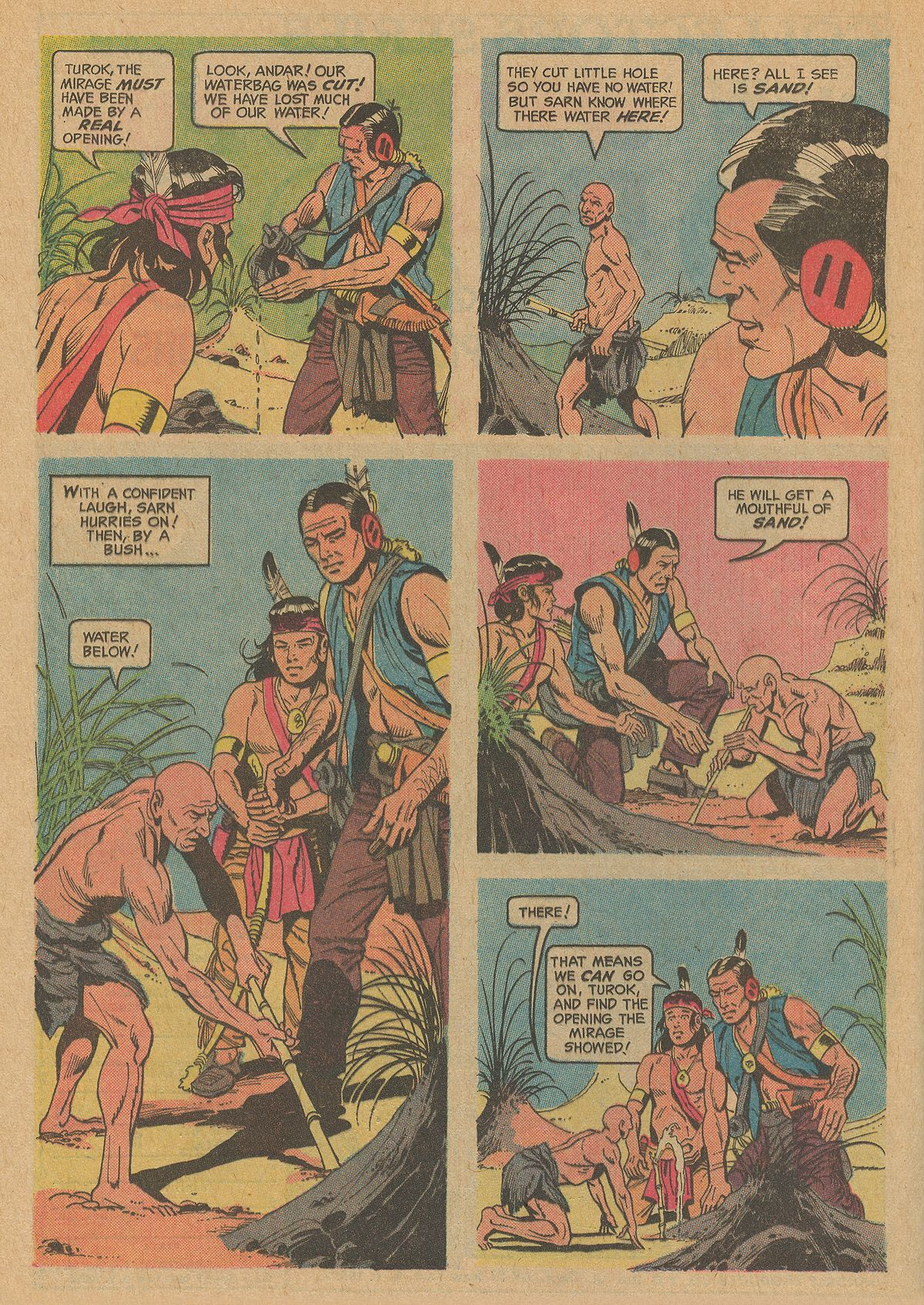Read online Turok, Son of Stone comic -  Issue #83 - 24
