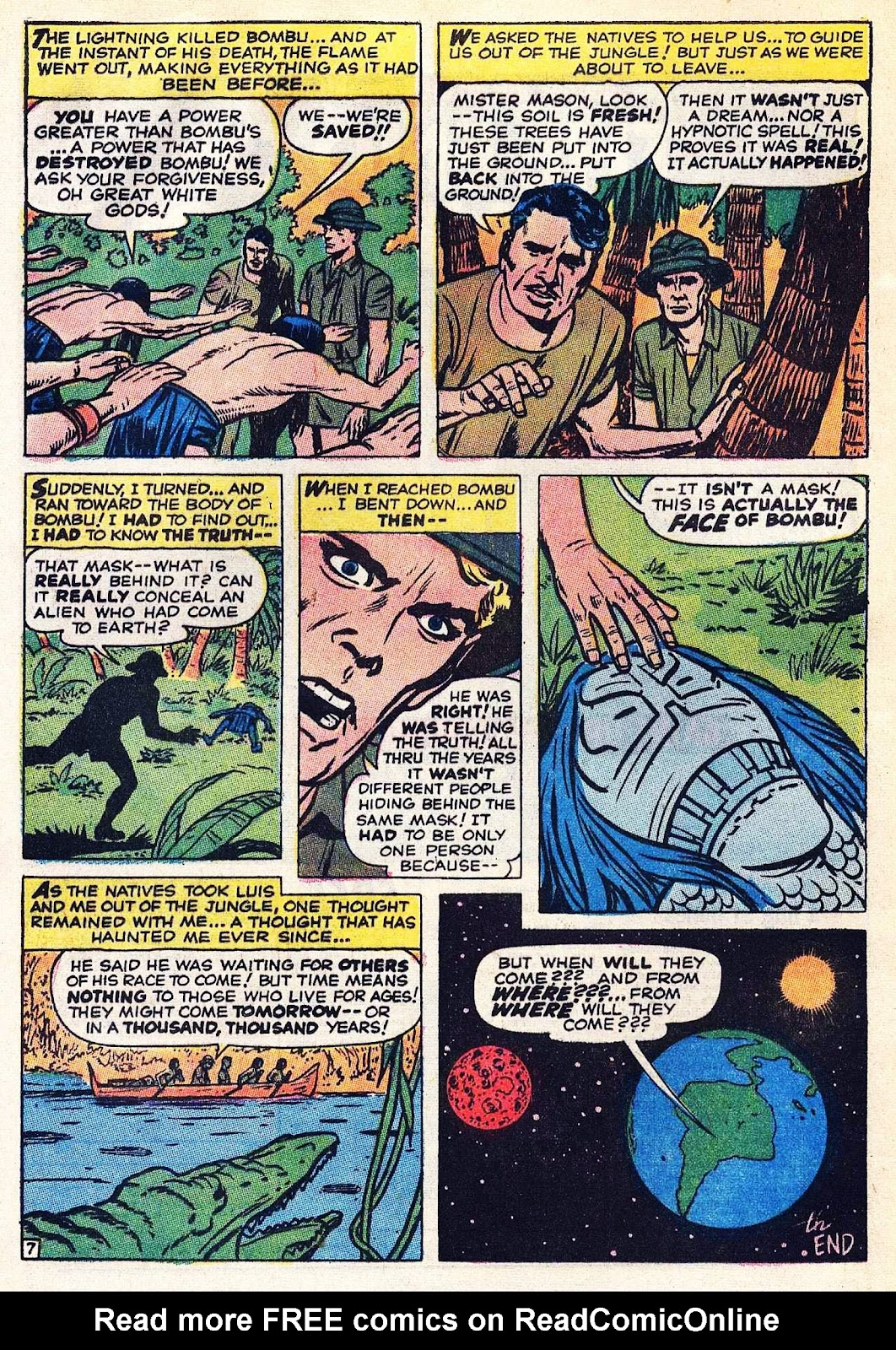 Where Monsters Dwell (1970) issue 9 - Page 11
