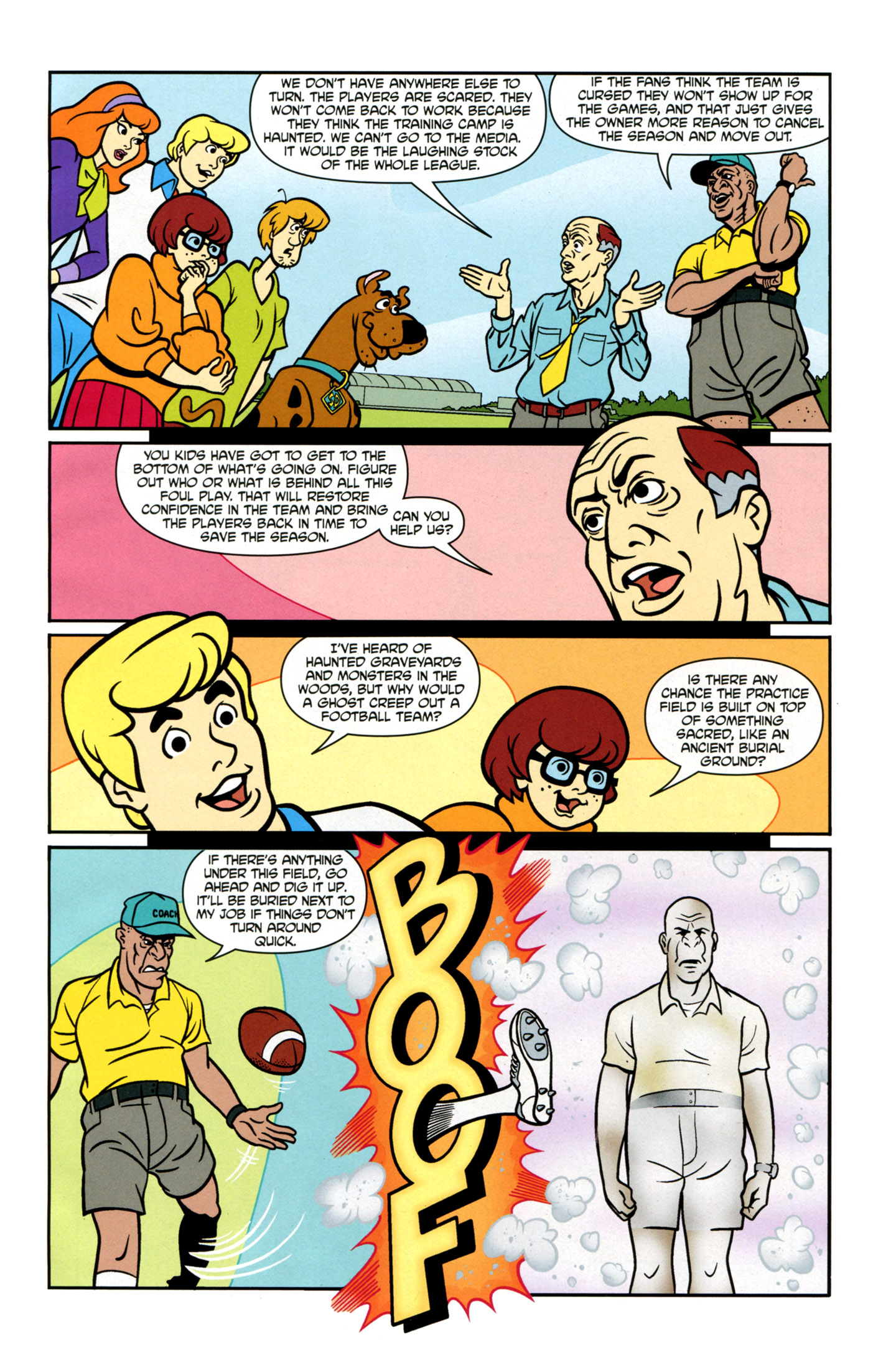 Read online Scooby-Doo: Where Are You? comic -  Issue #21 - 9