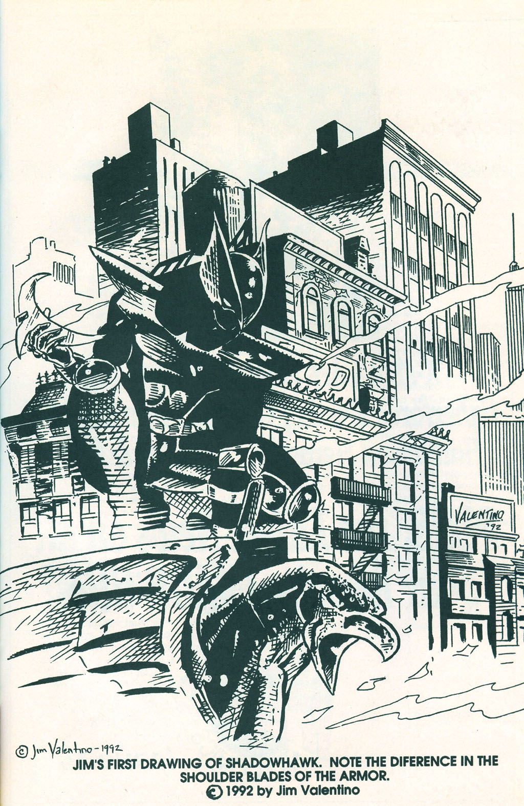 Read online ShadowHawk comic -  Issue #1 - 29