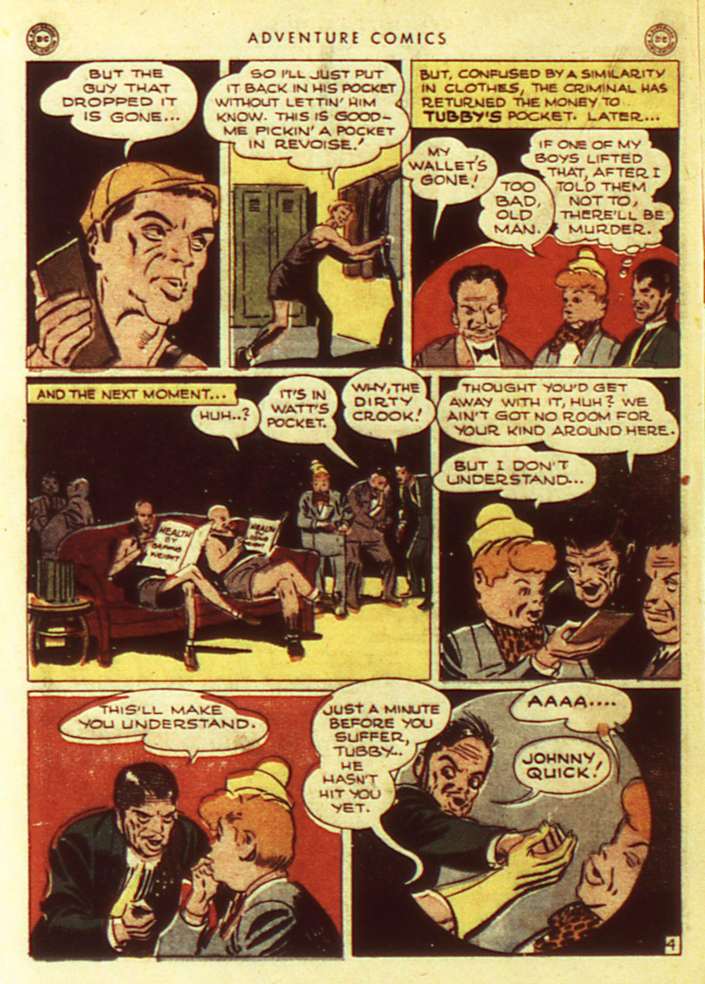 Read online Adventure Comics (1938) comic -  Issue #105 - 24