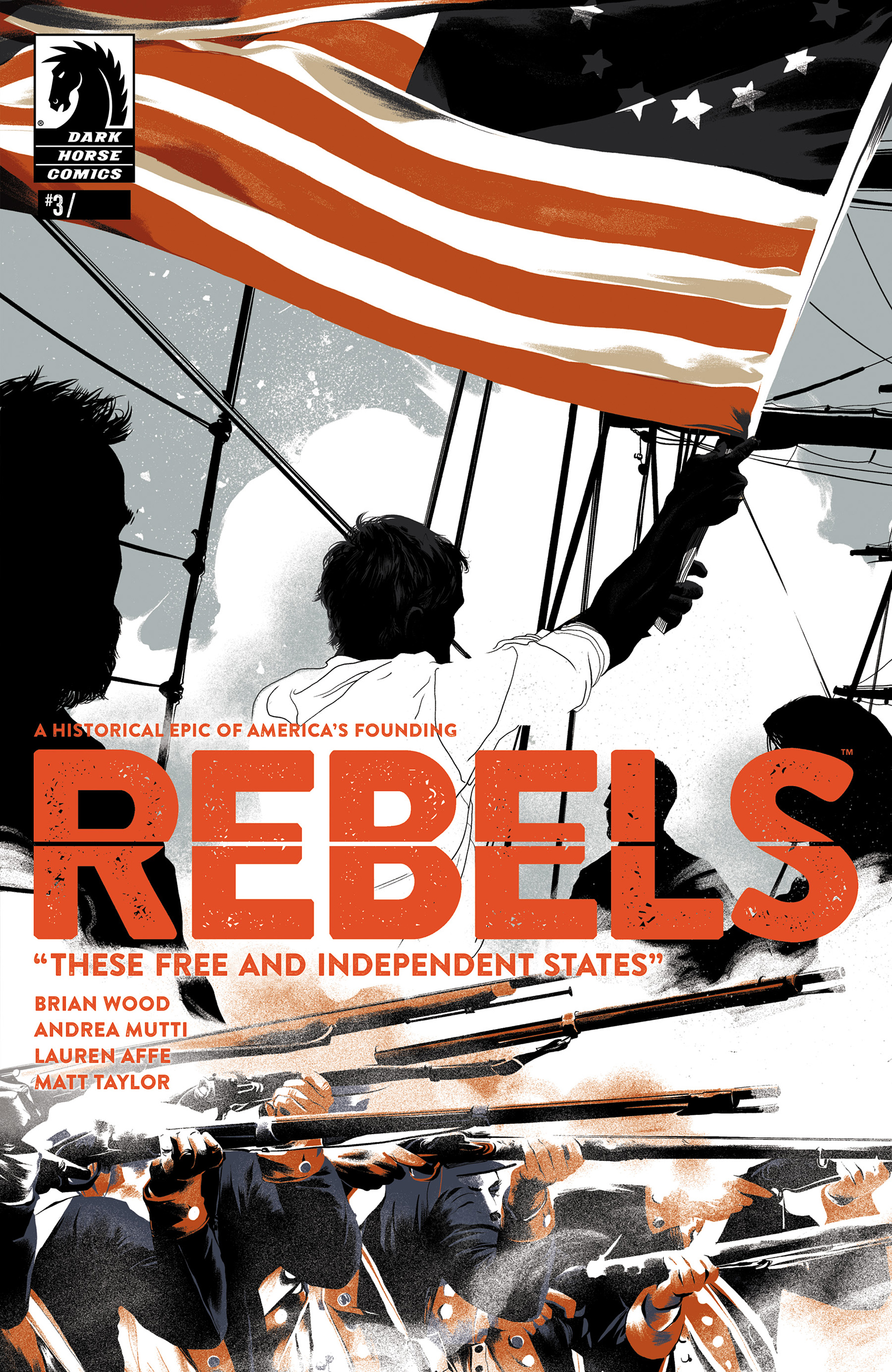 Read online Rebels: These Free and Independent States comic -  Issue #3 - 1