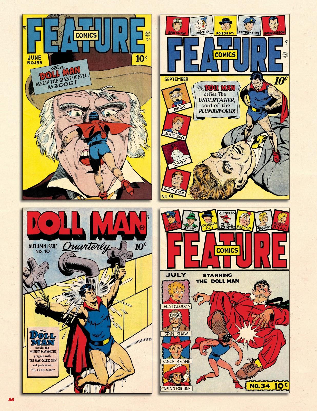 Read online Super Weird Heroes comic -  Issue # TPB 2 (Part 1) - 56