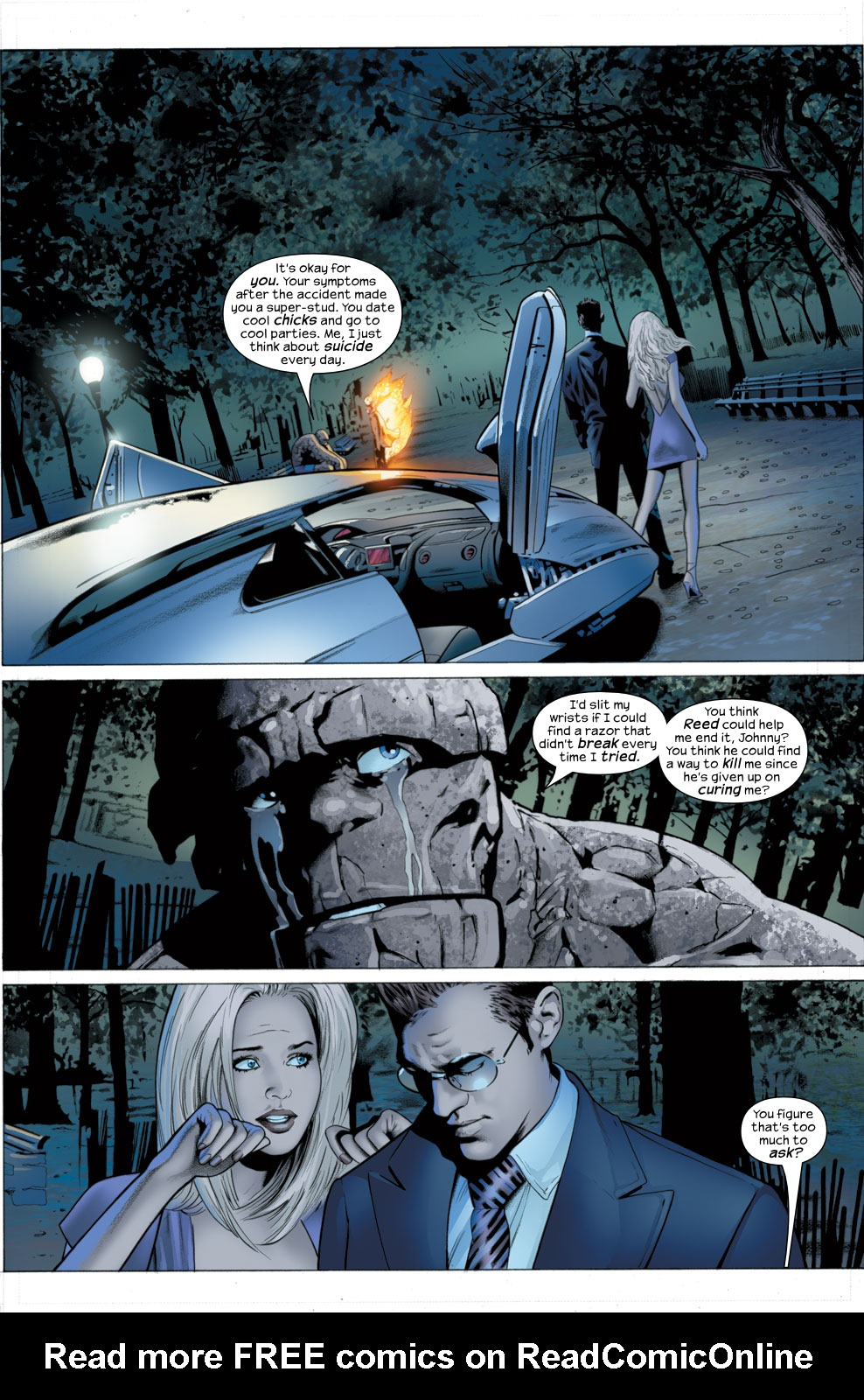Read online Ultimate Fantastic Four (2004) comic -  Issue #27 - 18