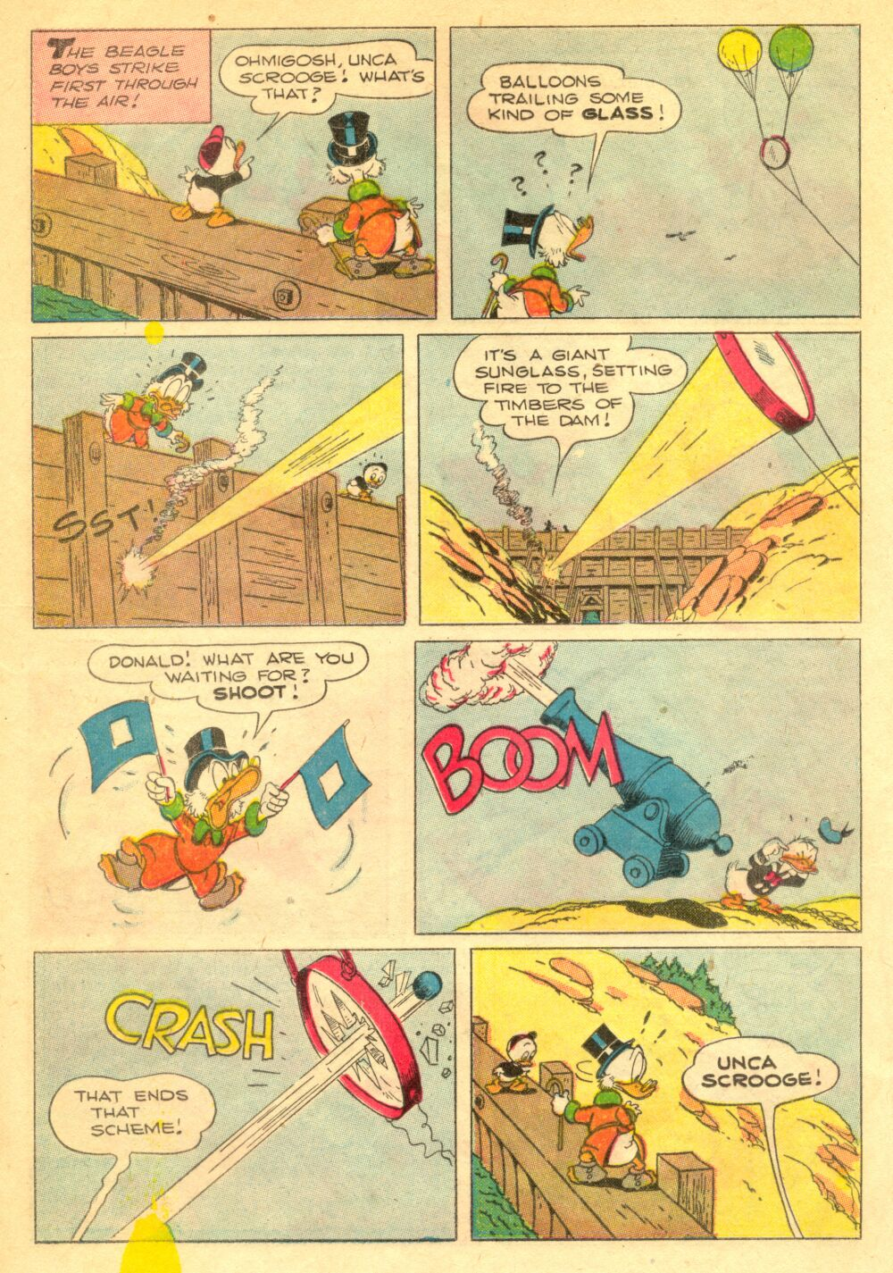 Read online Uncle Scrooge (1953) comic -  Issue #1 - 21