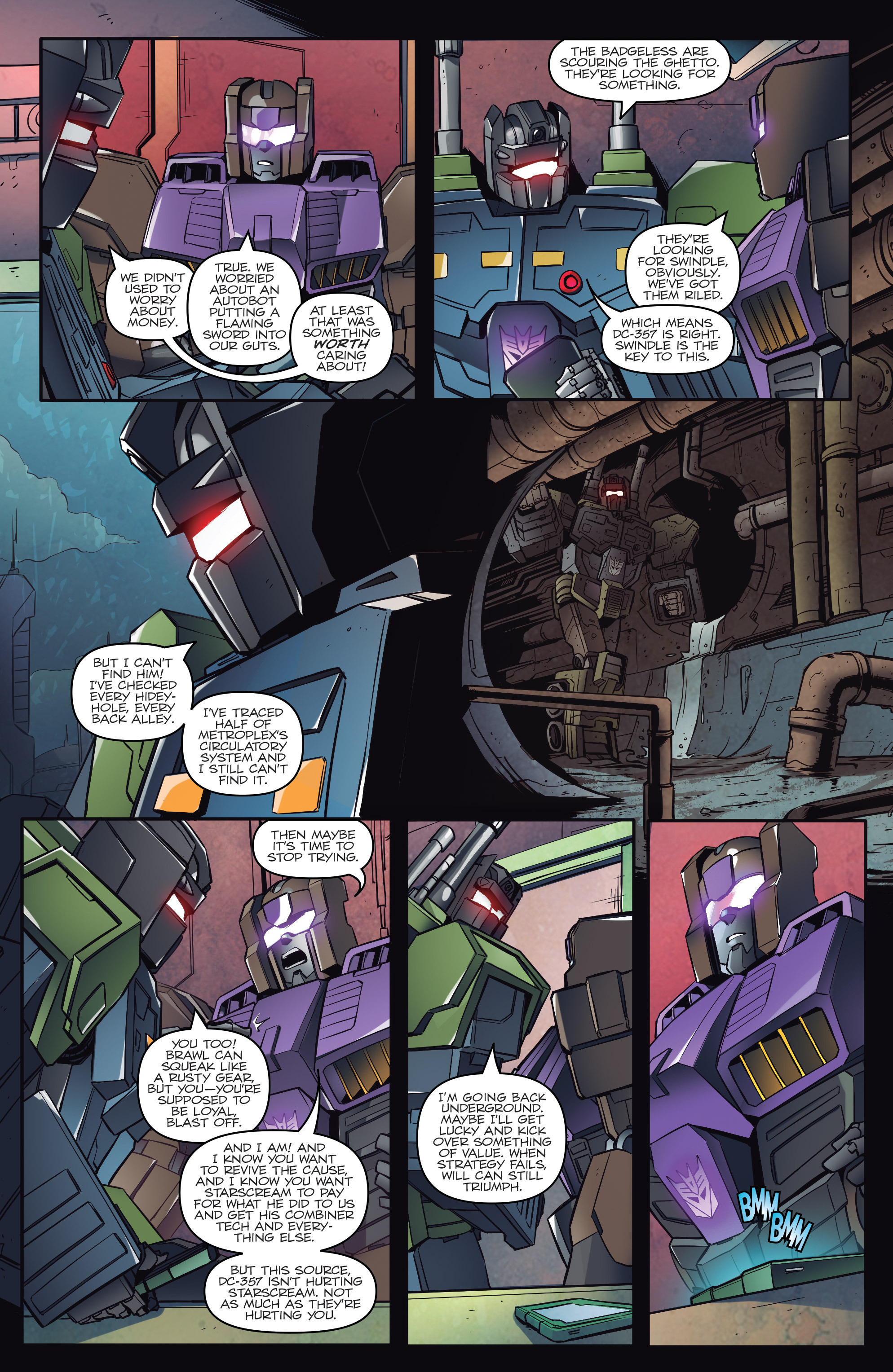 Read online Transformers: Till All Are One comic -  Issue #1 - 9