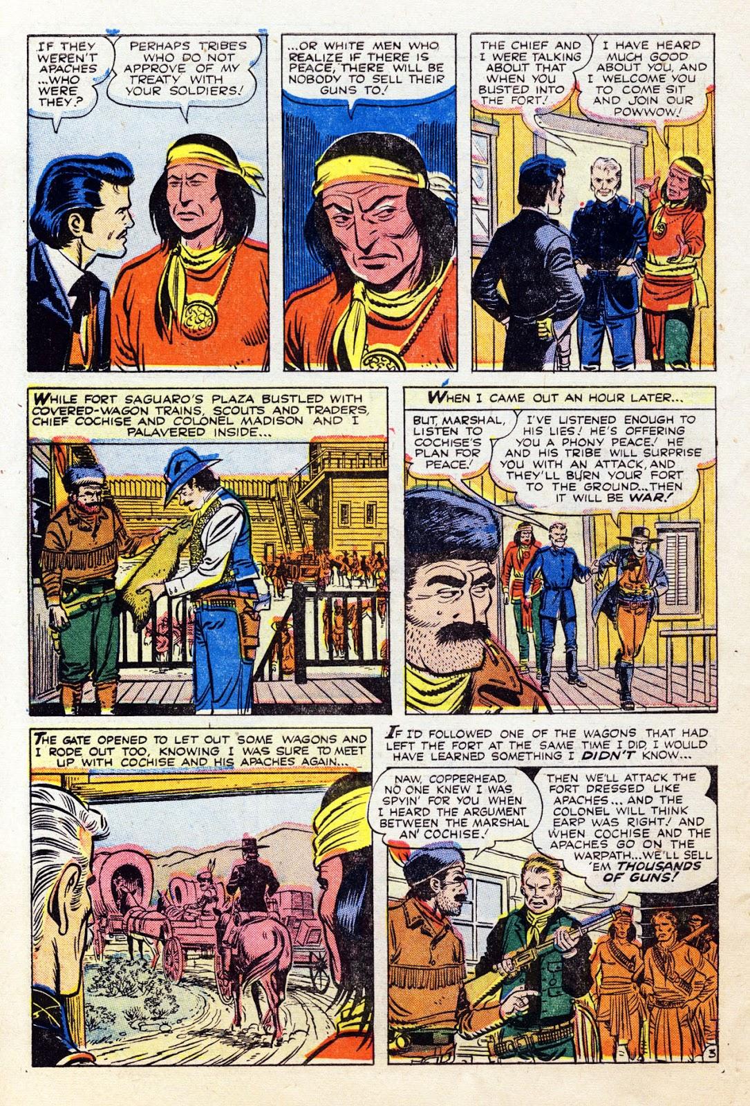 Gunsmoke Western issue 36 - Page 30