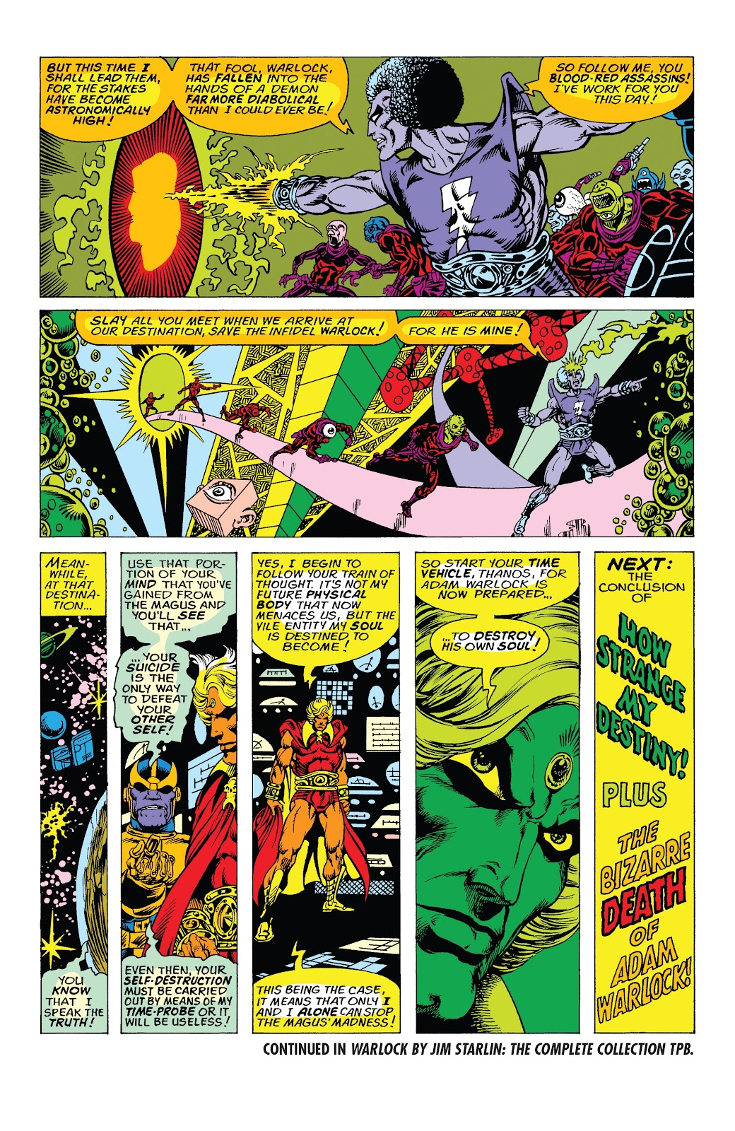 Read online Marvel Tales: Thanos comic -  Issue # Full - 24
