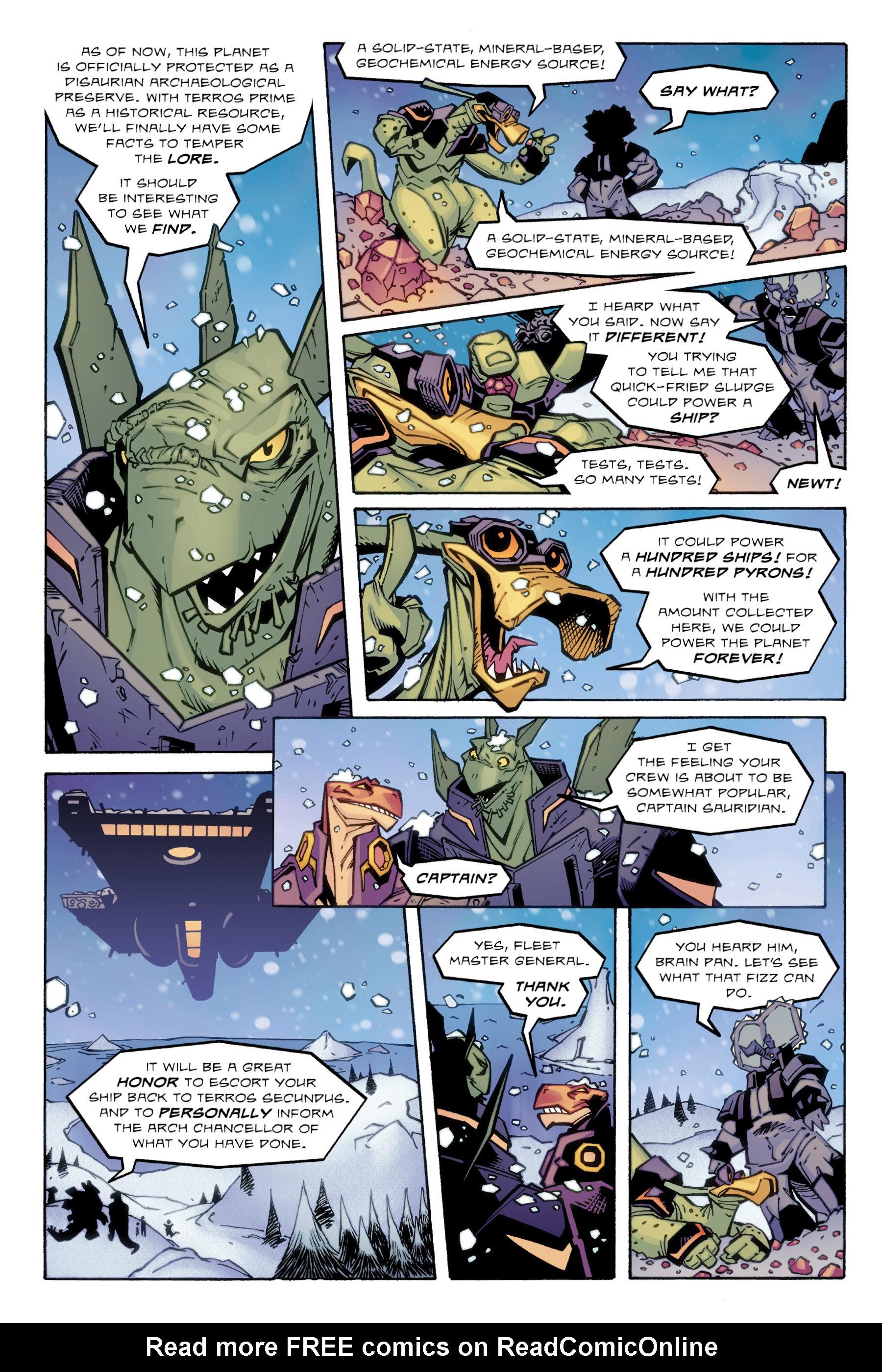 Read online Rexodus comic -  Issue # Full - 103