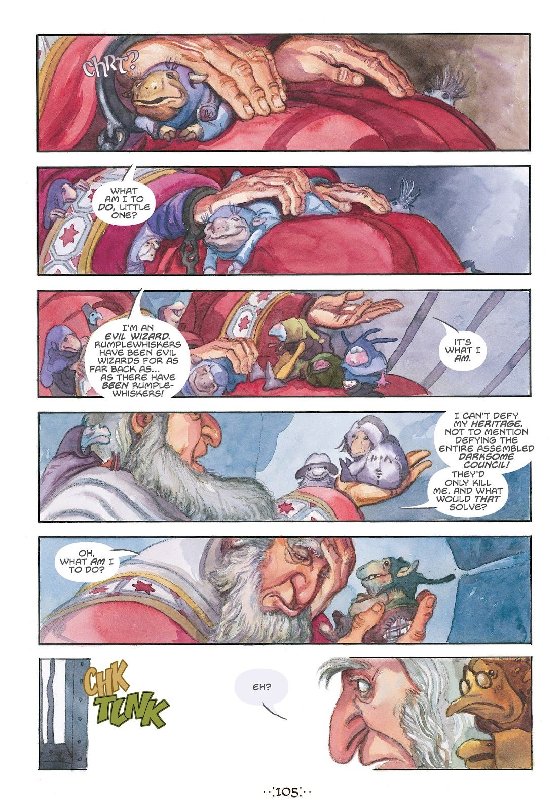 Read online The Wizard's Tale comic -  Issue # TPB - 100