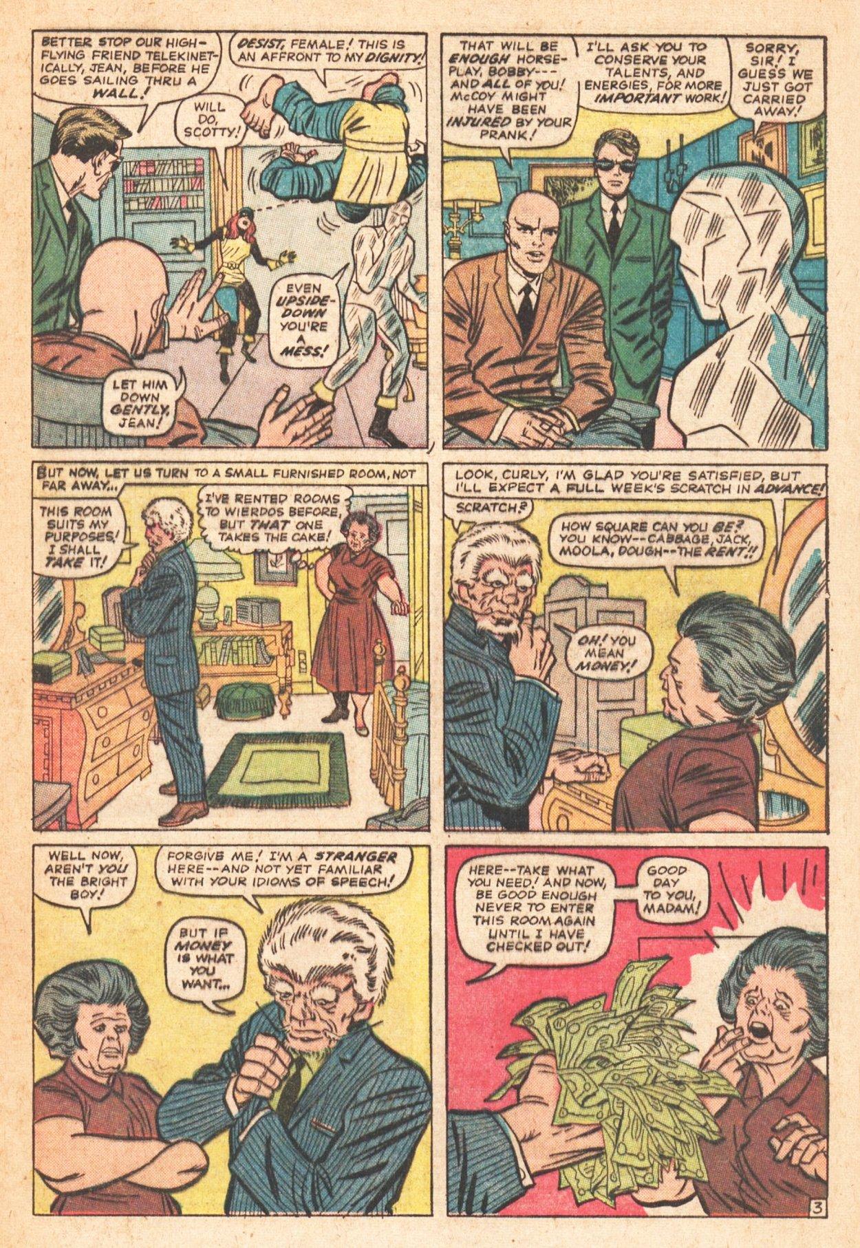 Read online Uncanny X-Men (1963) comic -  Issue # _Annual 1 - 30