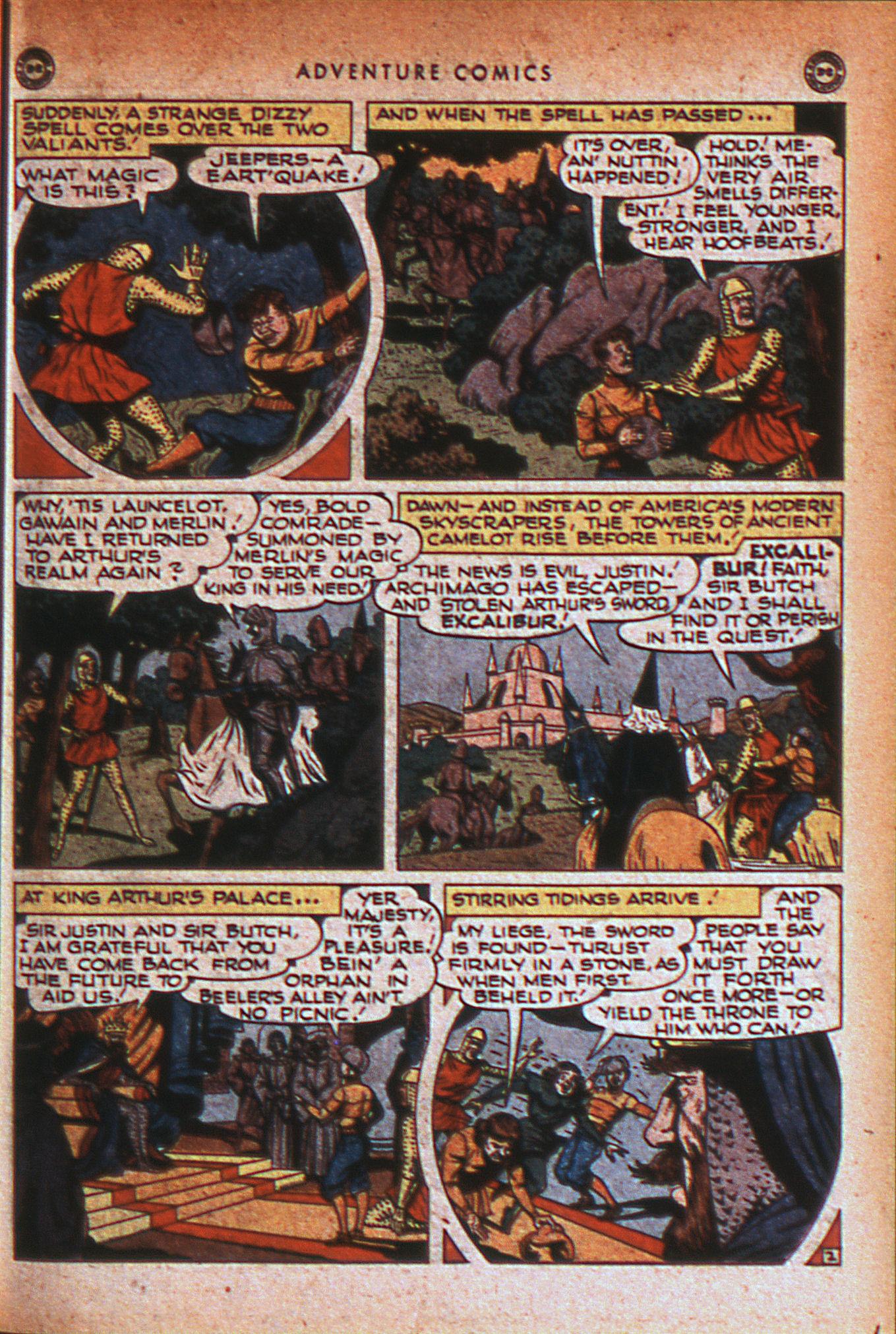 Read online Adventure Comics (1938) comic -  Issue #124 - 16