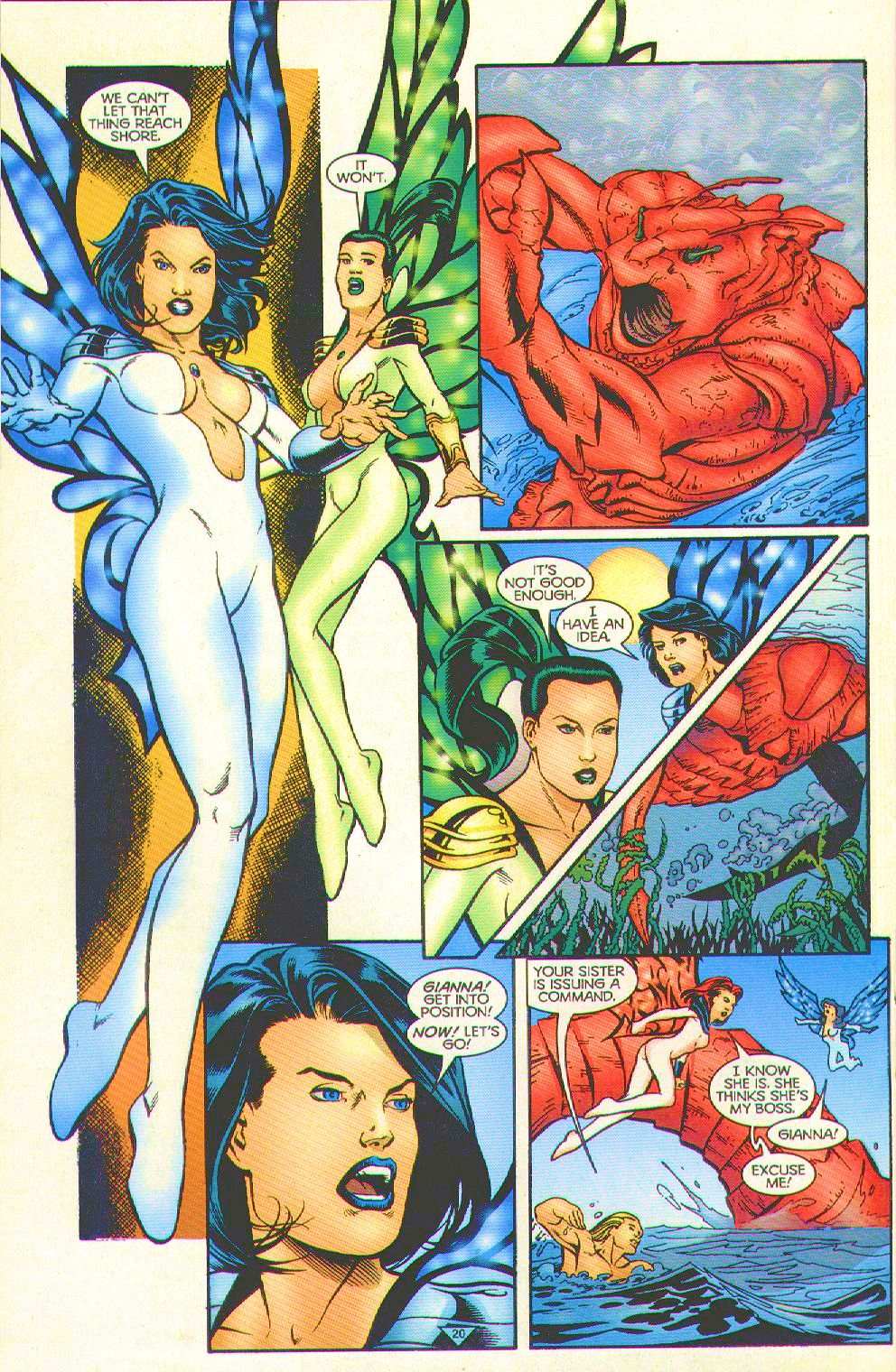 Read online Trinity Angels comic -  Issue #8 - 18