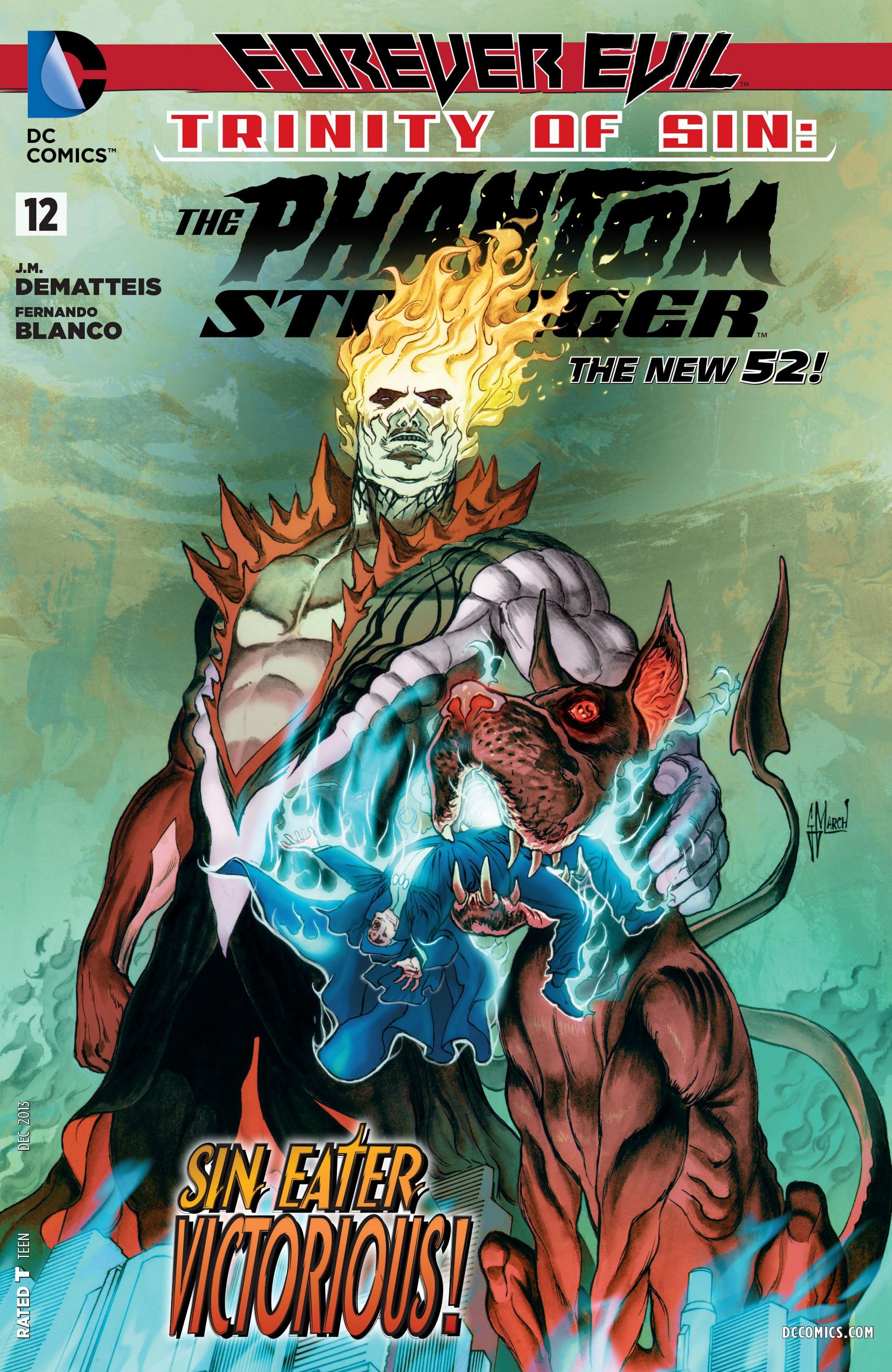 Read online Trinity of Sin: The Phantom Stranger comic -  Issue #12 - 1