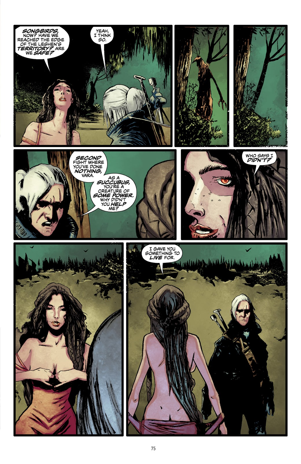 Read online The Witcher Omnibus comic -  Issue # TPB (Part 1) - 74