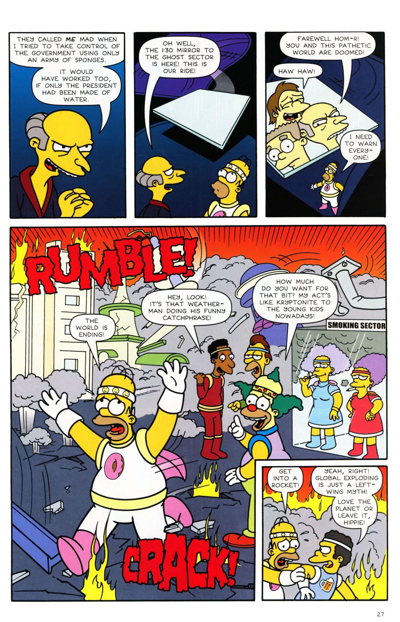 Read online Simpsons Comics comic -  Issue #168 - 22