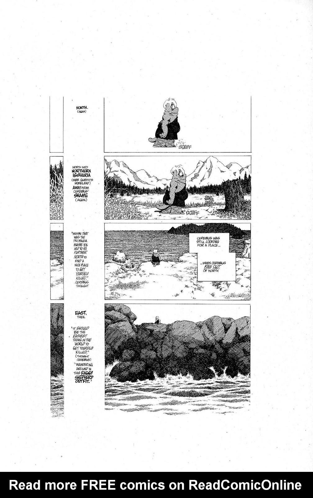 Cerebus Issue #267 #266 - English 3