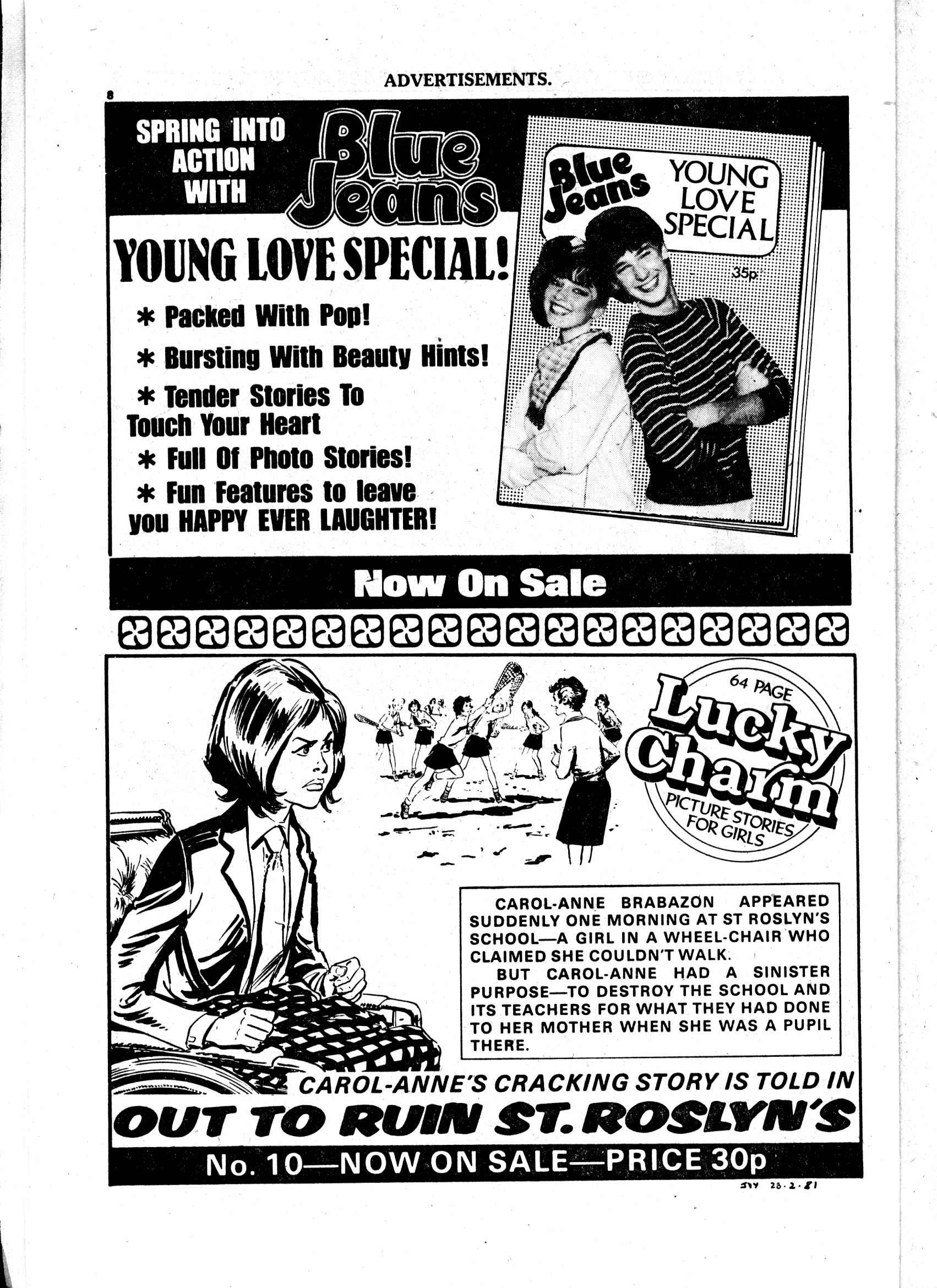 Read online Judy comic -  Issue #1103 - 8