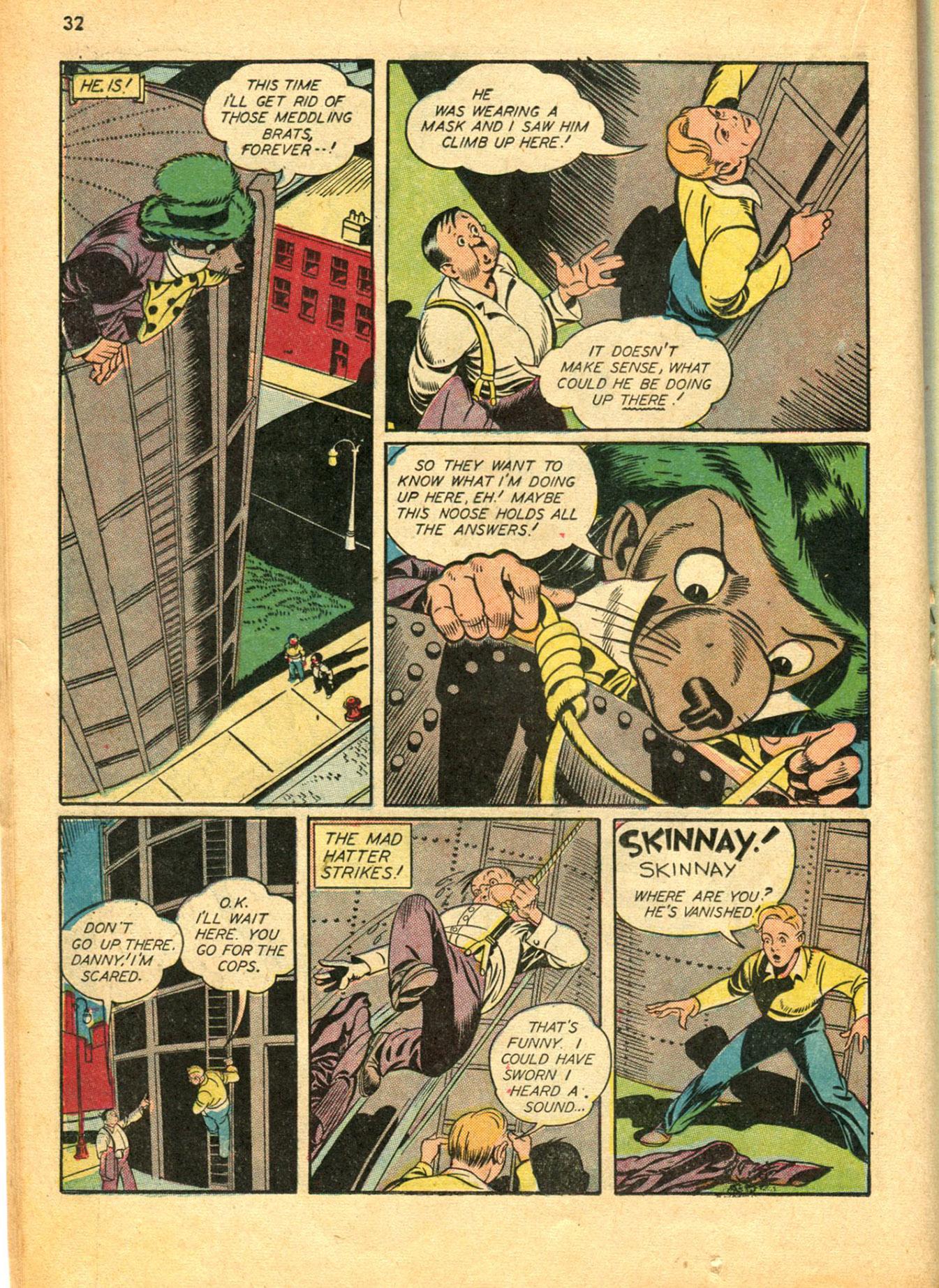 Read online Shadow Comics comic -  Issue #30 - 32