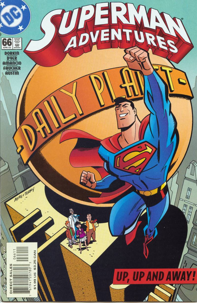 Superman Adventure (1996-2002) issue 66 - Page 1