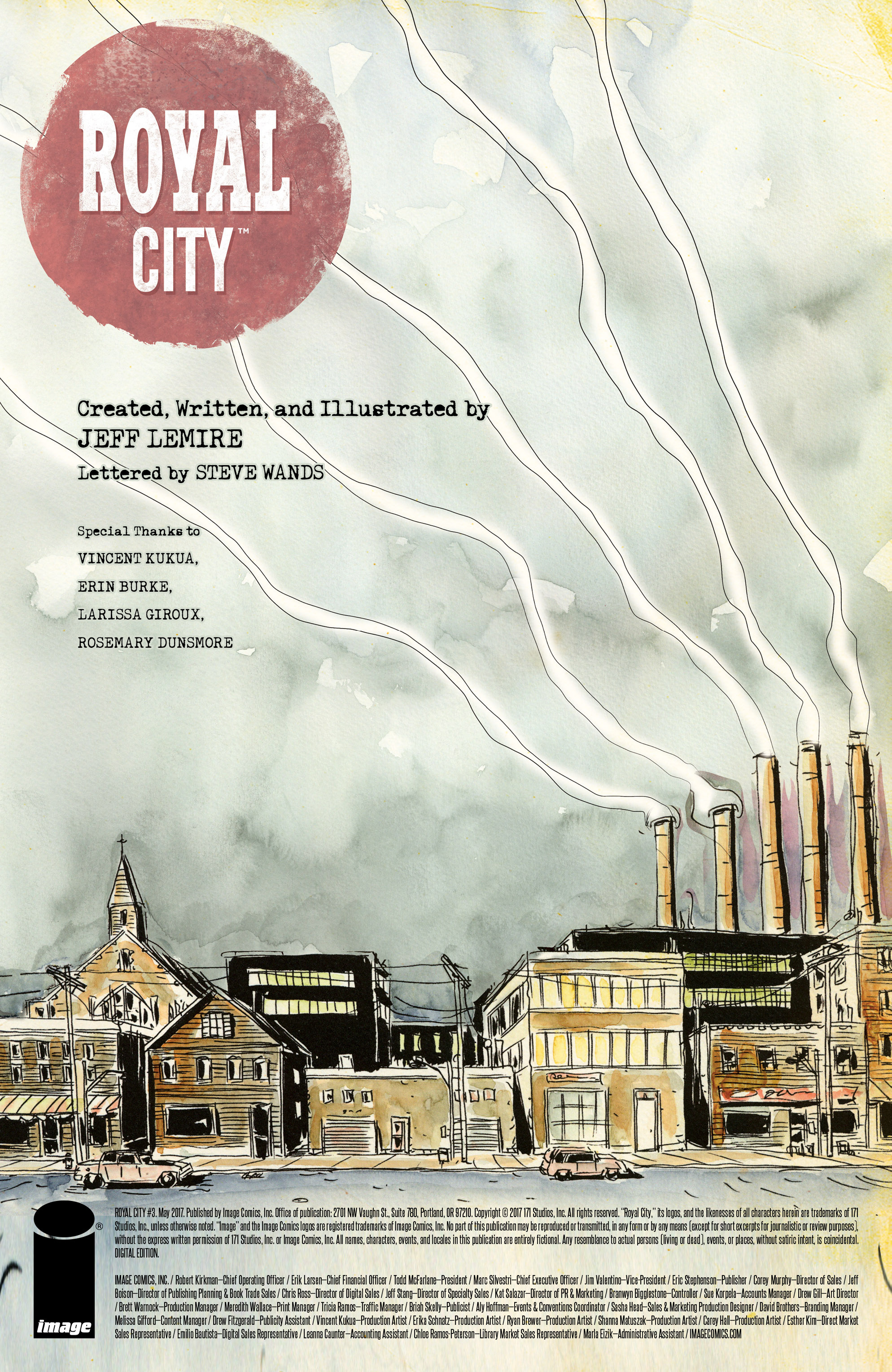Read online Royal City comic -  Issue #3 - 2
