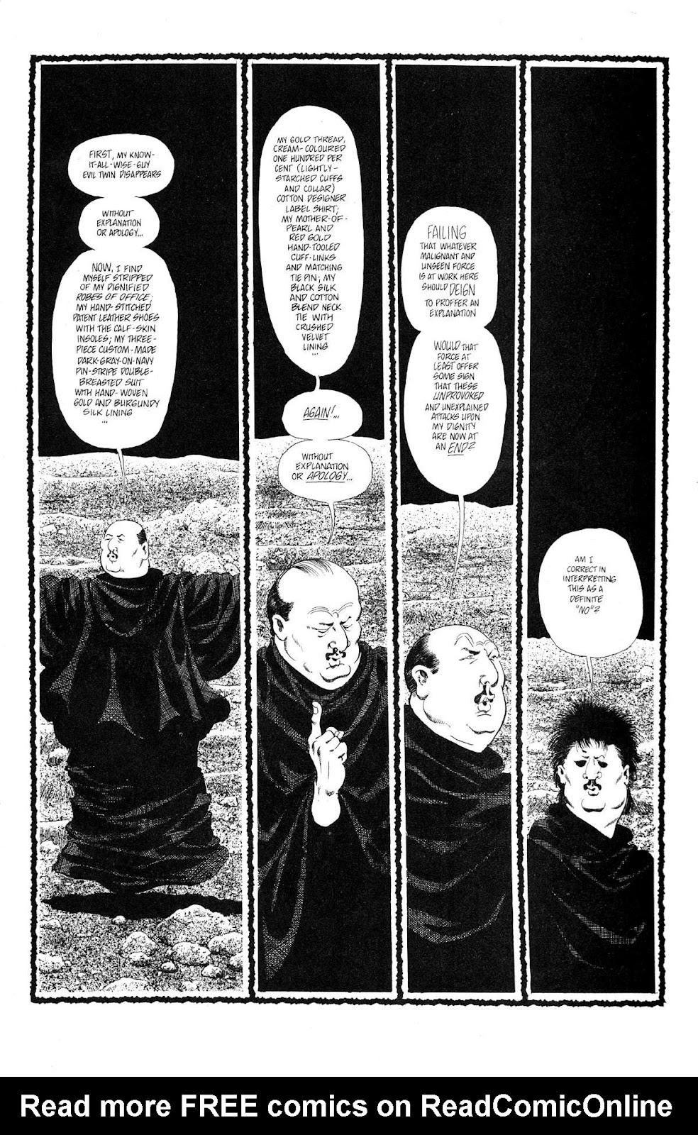 Cerebus Issue #165 #164 - English 7