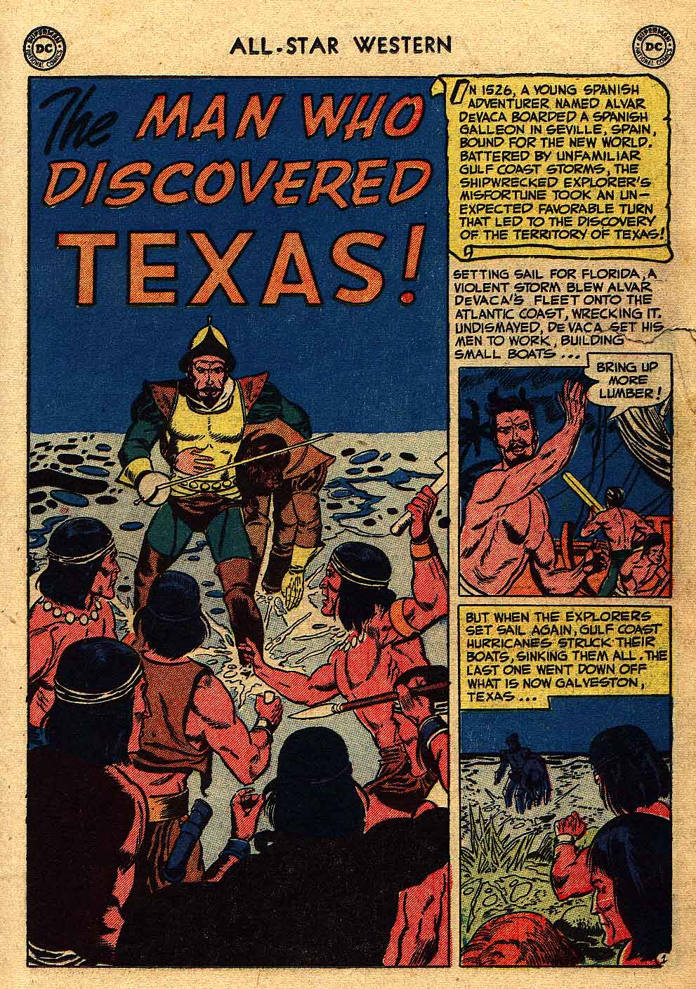 Read online All-Star Western (1951) comic -  Issue #62 - 19