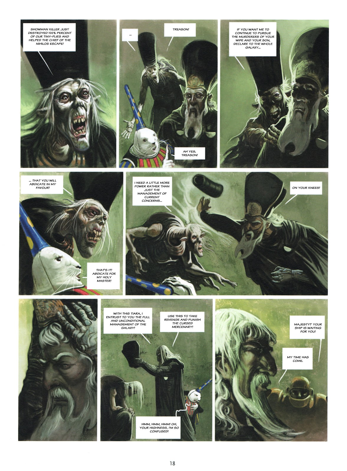 Showman Killer issue 2 - Page 18