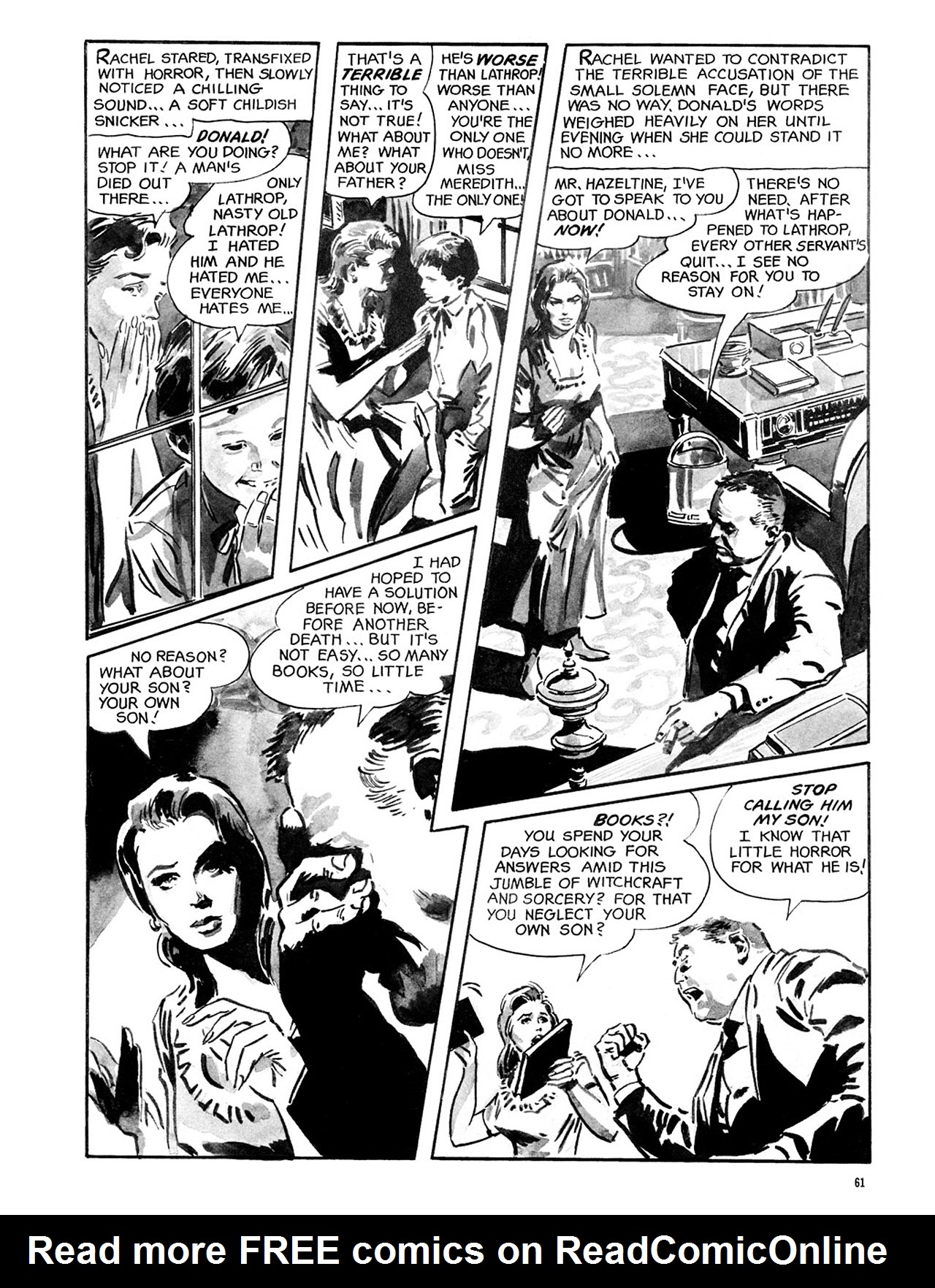 Read online Eerie Archives comic -  Issue # TPB 2 - 62