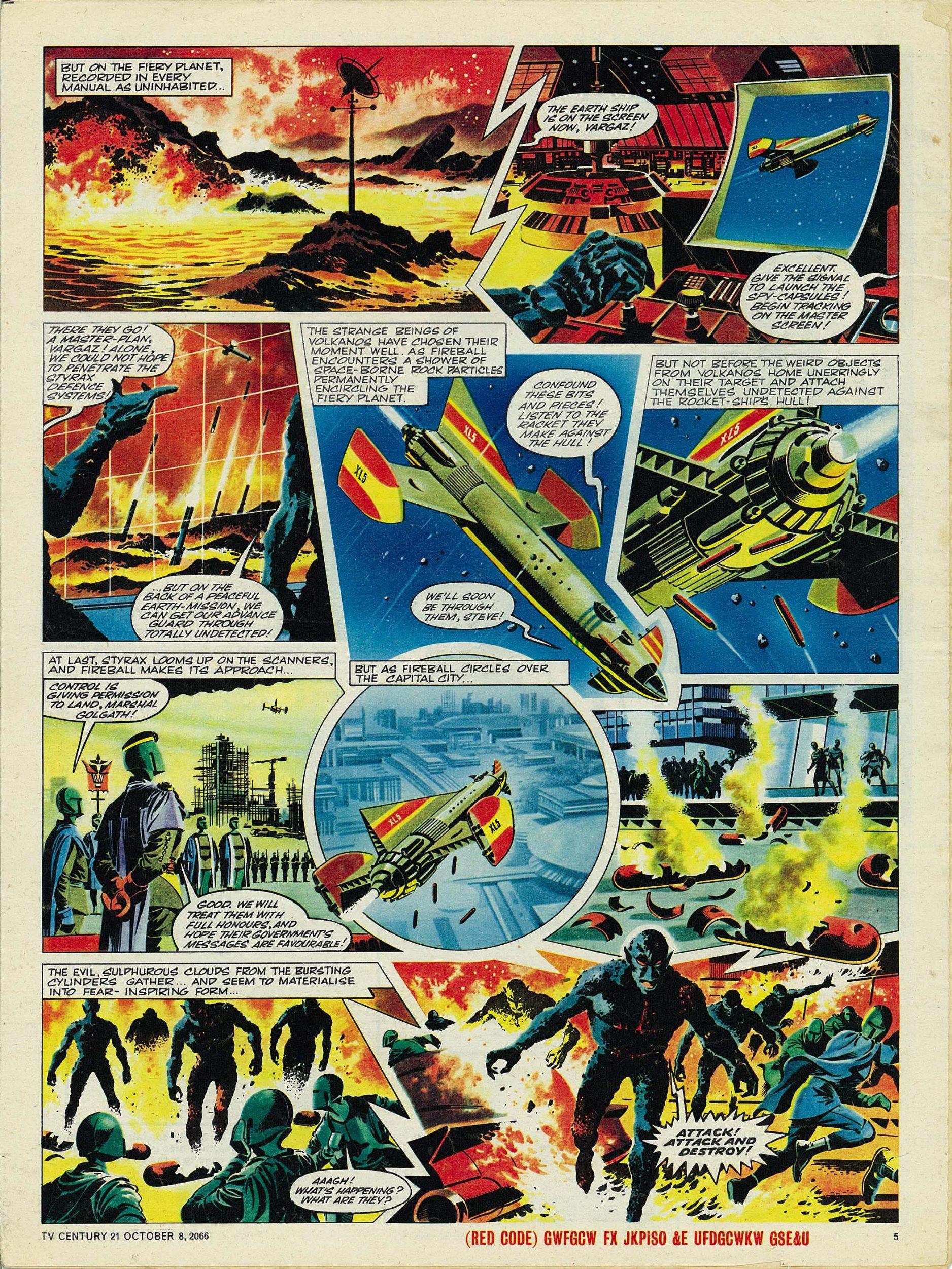 Read online TV Century 21 (TV 21) comic -  Issue #90 - 5