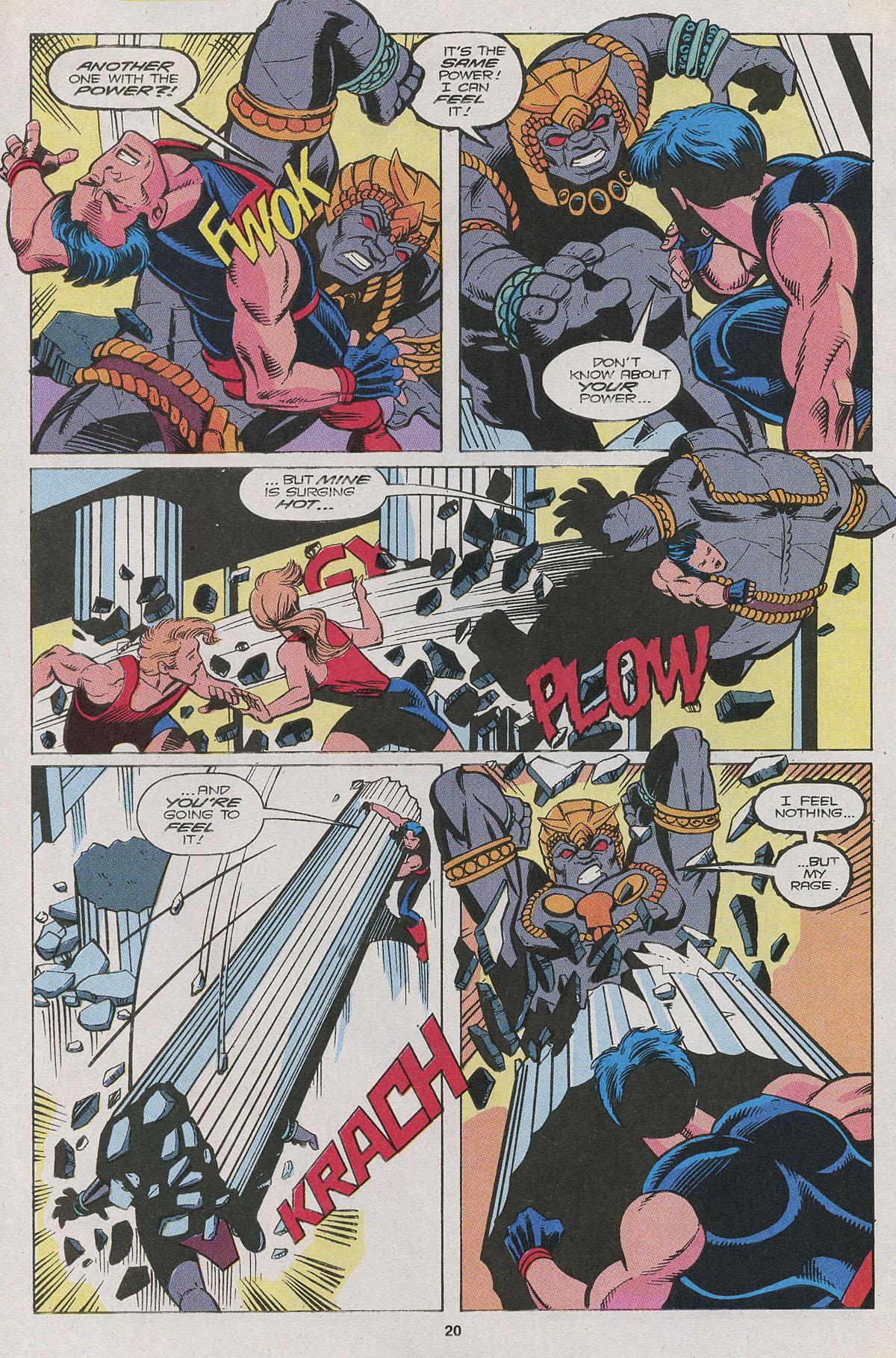 Read online Wonder Man (1991) comic -  Issue #11 - 14